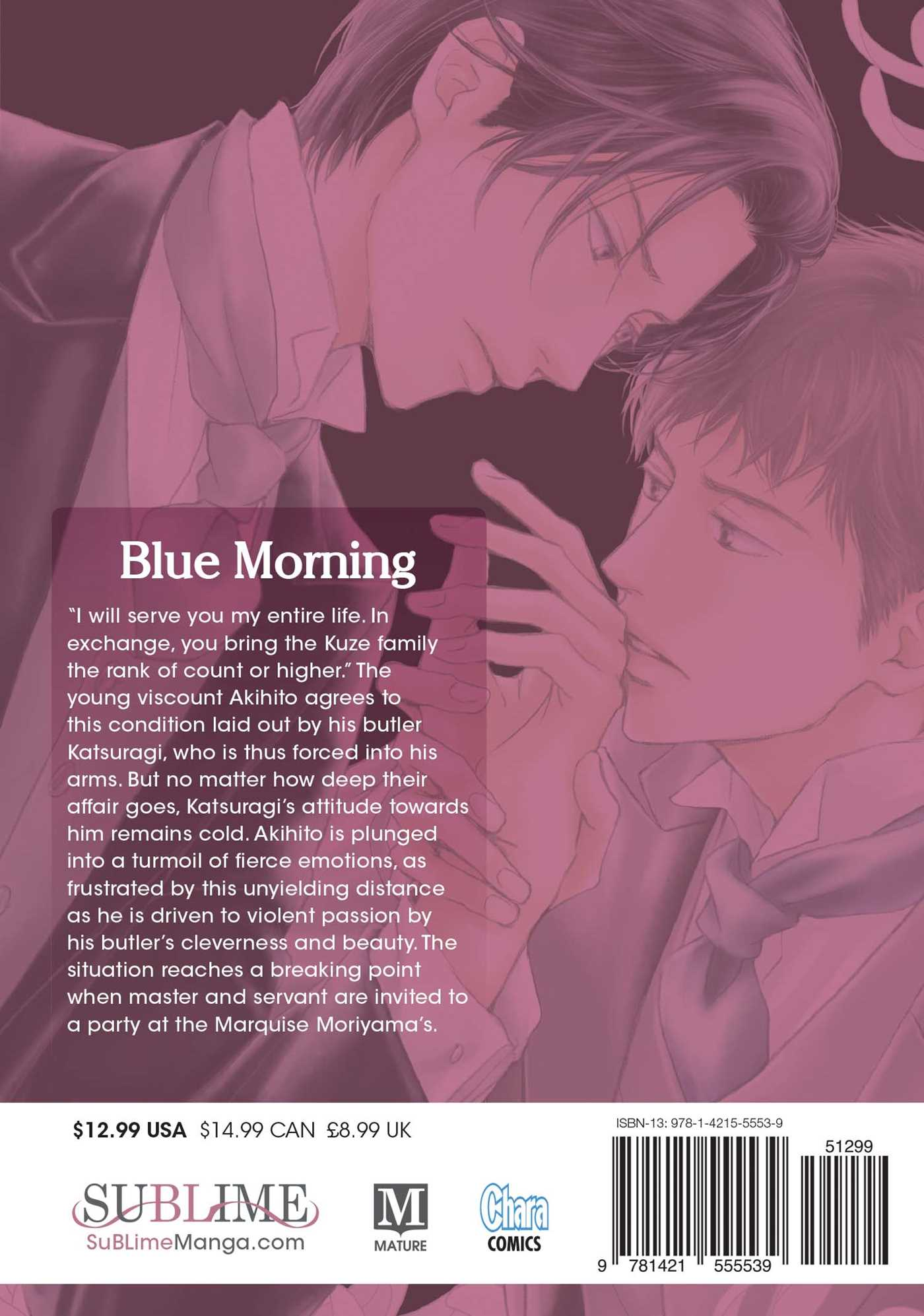 Blue morning vol 2 9781421555539 hr back