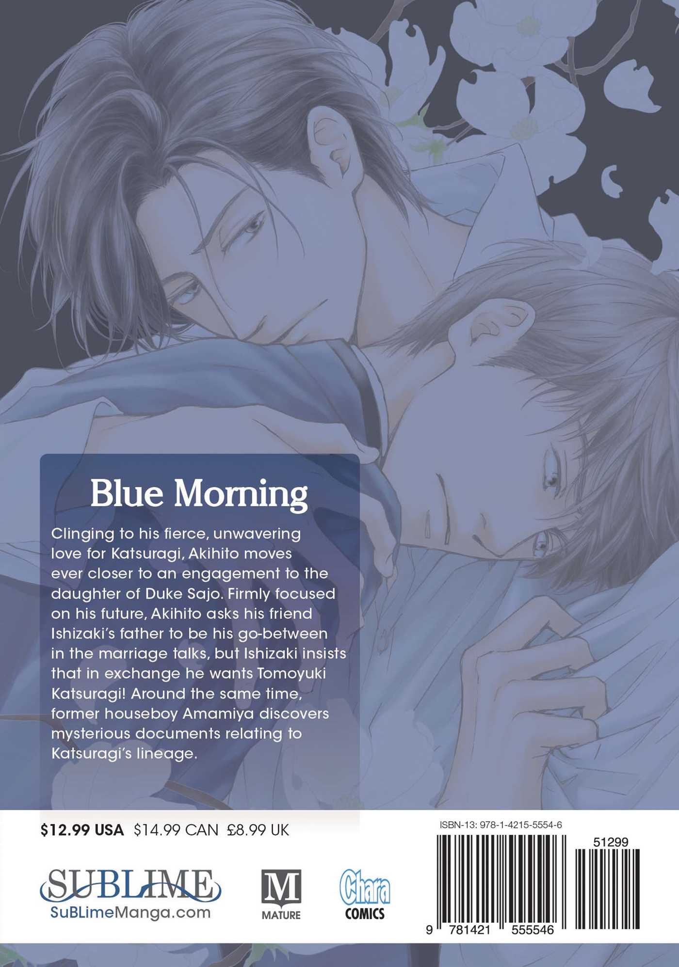 Blue morning vol 3 9781421555546 hr back