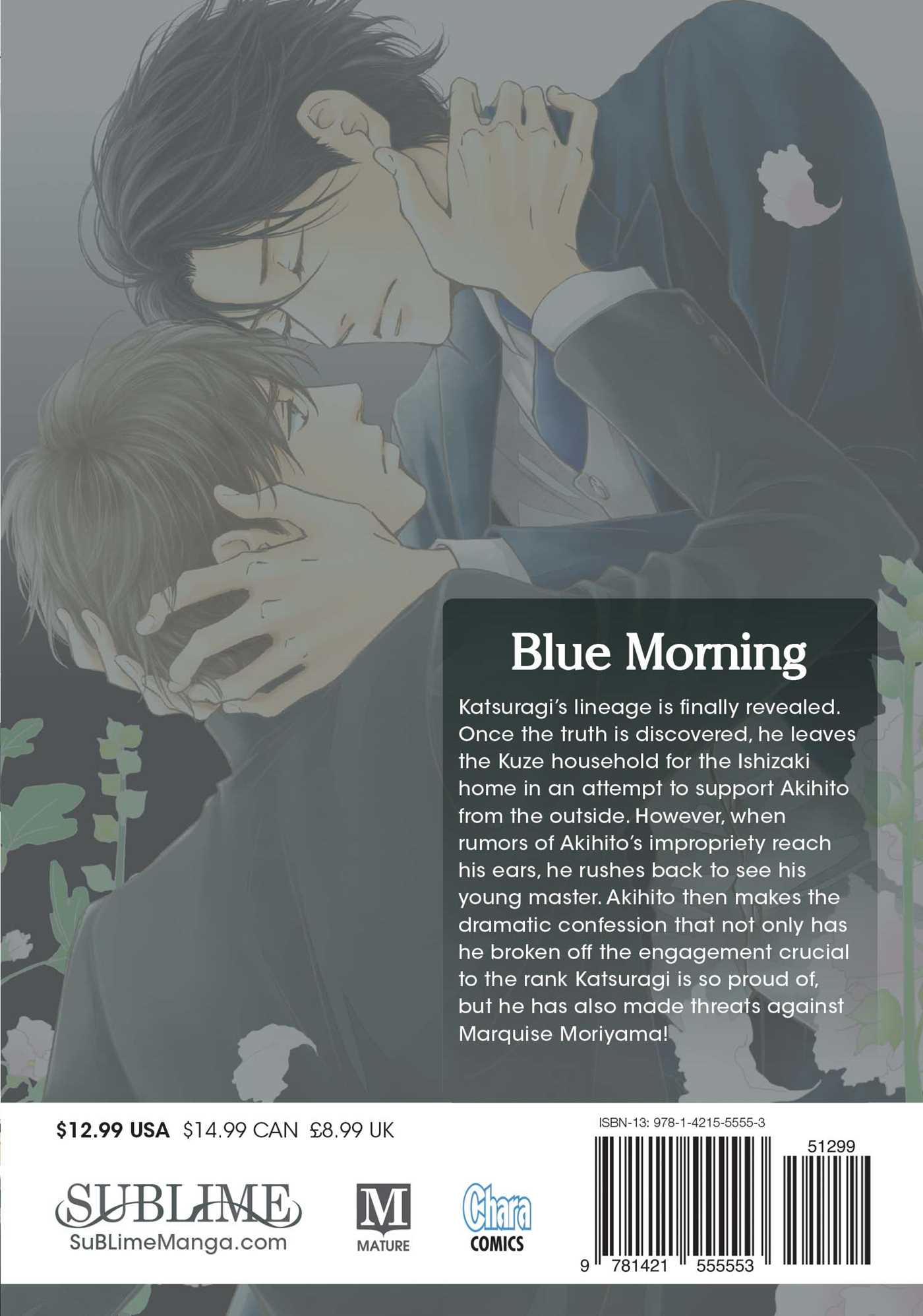 Blue morning vol 4 9781421555553 hr back