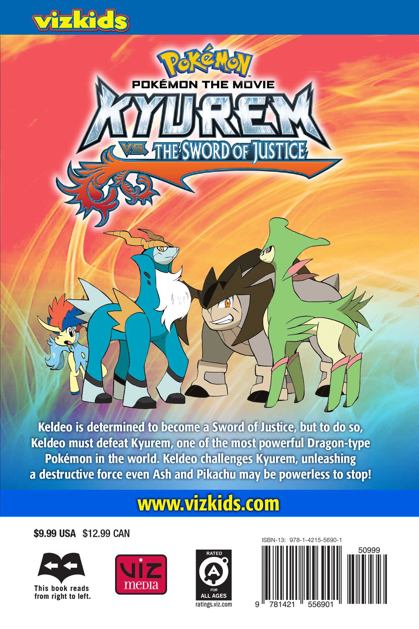 Pokémon the movie kyurem vs the sword of justice [hd][complete.