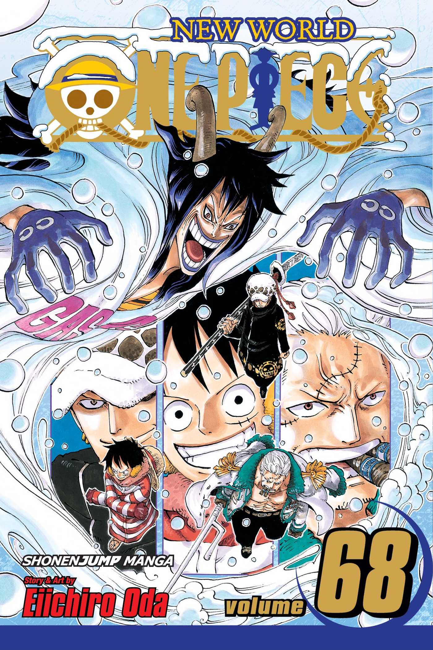 one piece, vol. 68 | bookeiichiro oda | official publisher page