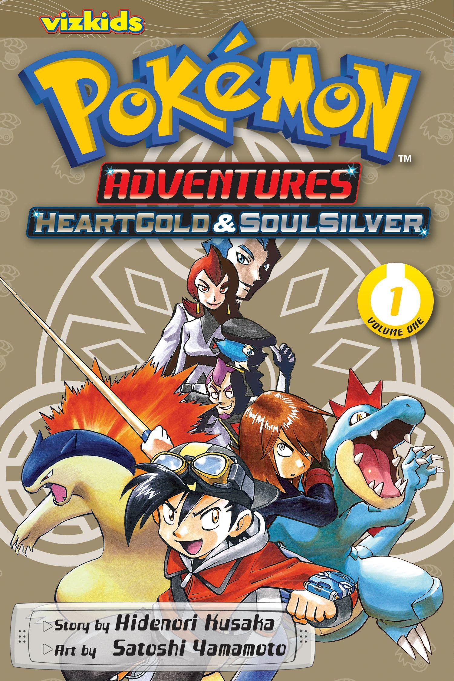 Pok mon adventures heart gold soul silver vol 1 book - Pokemon argent pokemon rare ...
