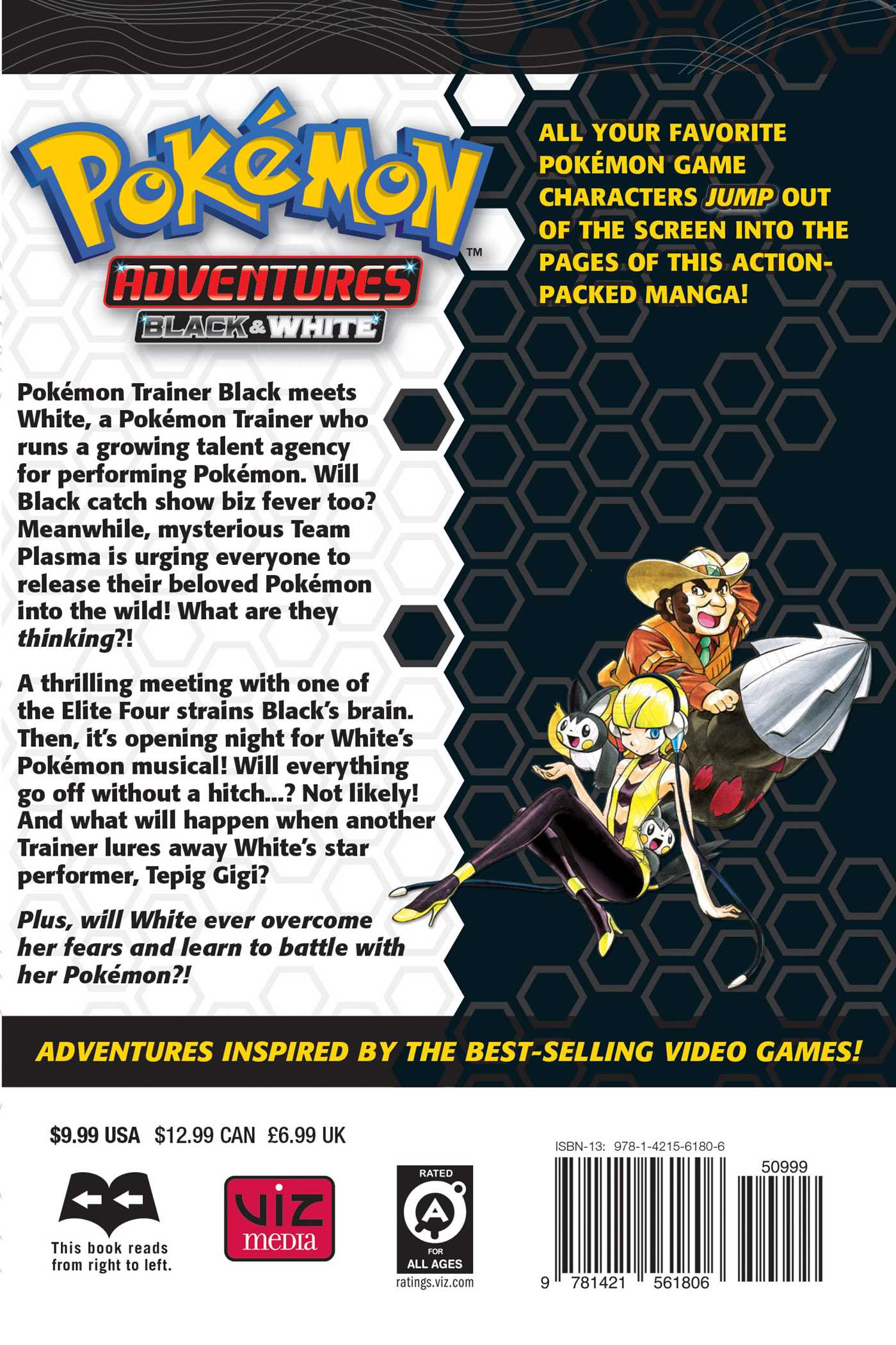 Pokmon Adventures Black And White Vol 4 Book By Hidenori