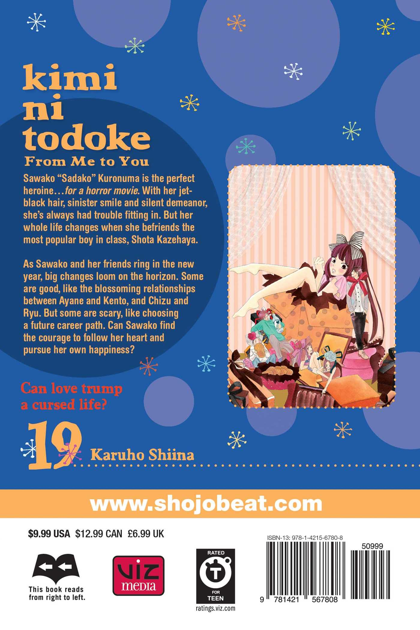 Kimi ni todoke from me to you vol 19 9781421567808 hr back