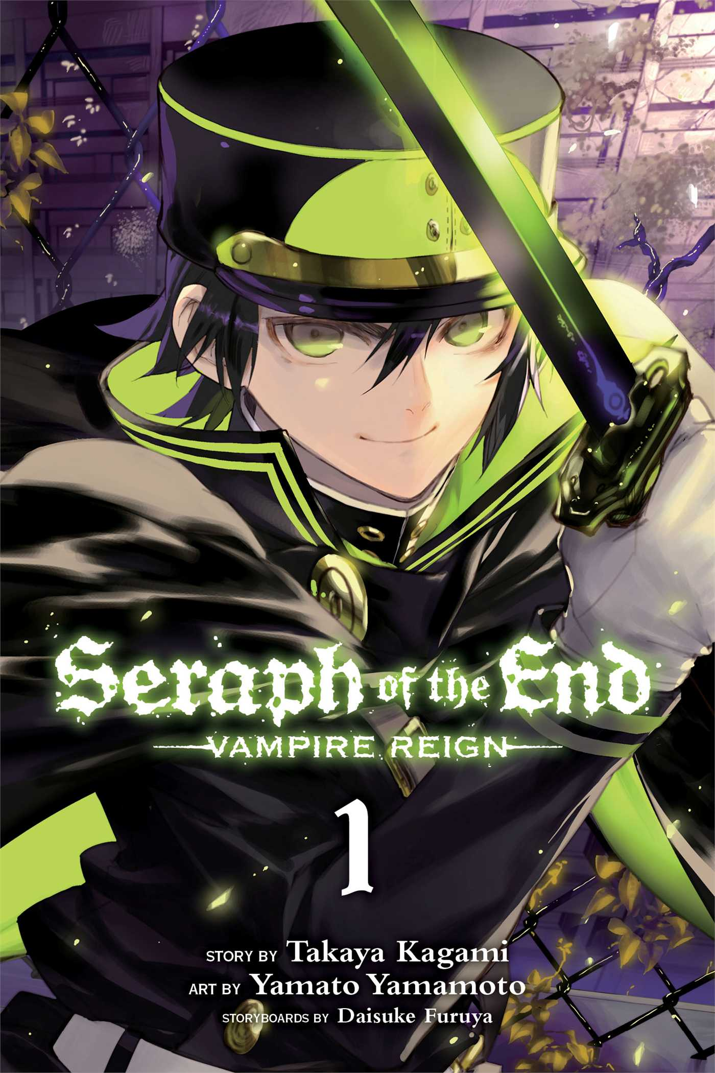 Seraph of the end vol 1 9781421571508 hr