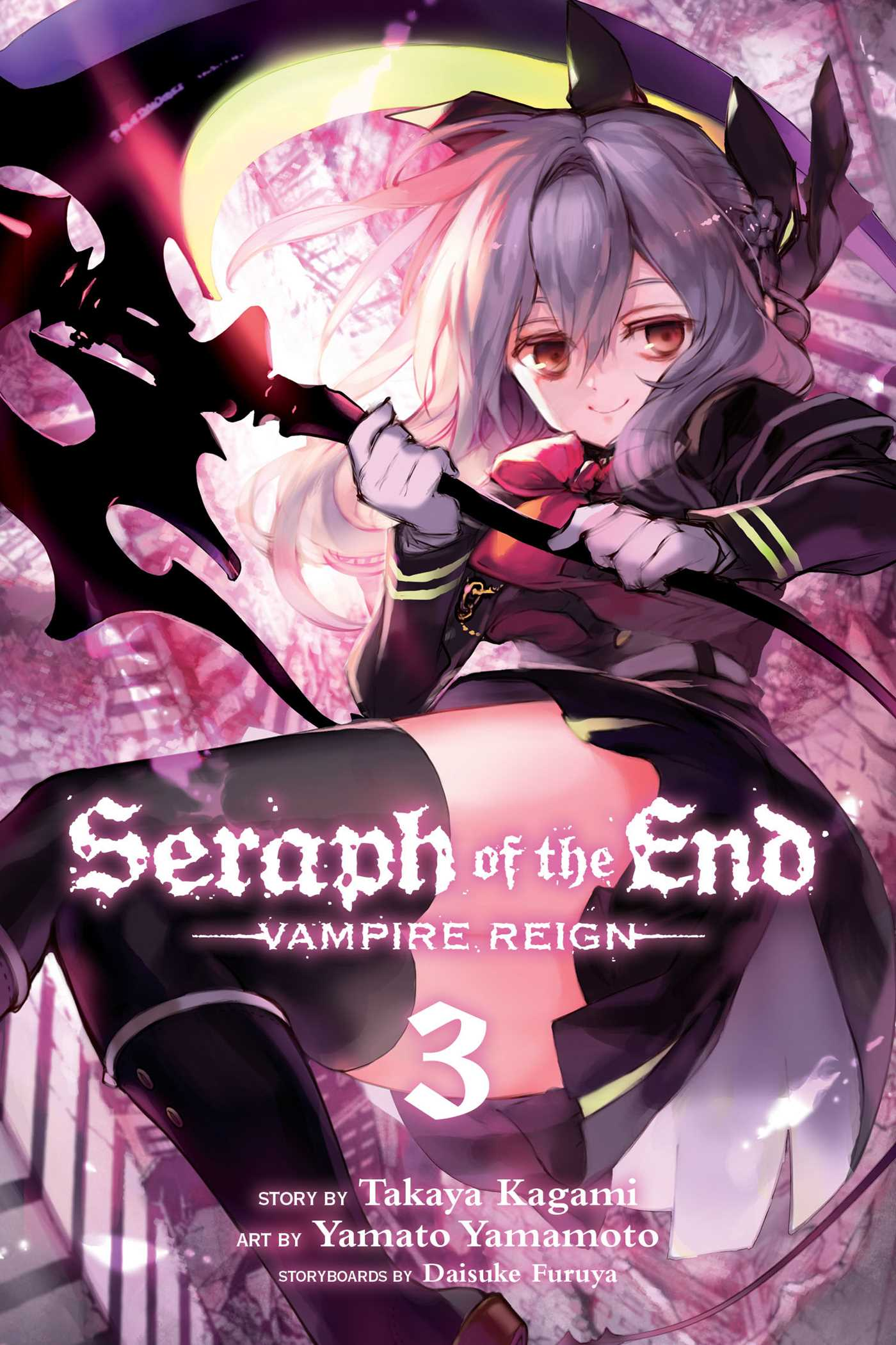 Seraph of the end vol 3 9781421571522 hr