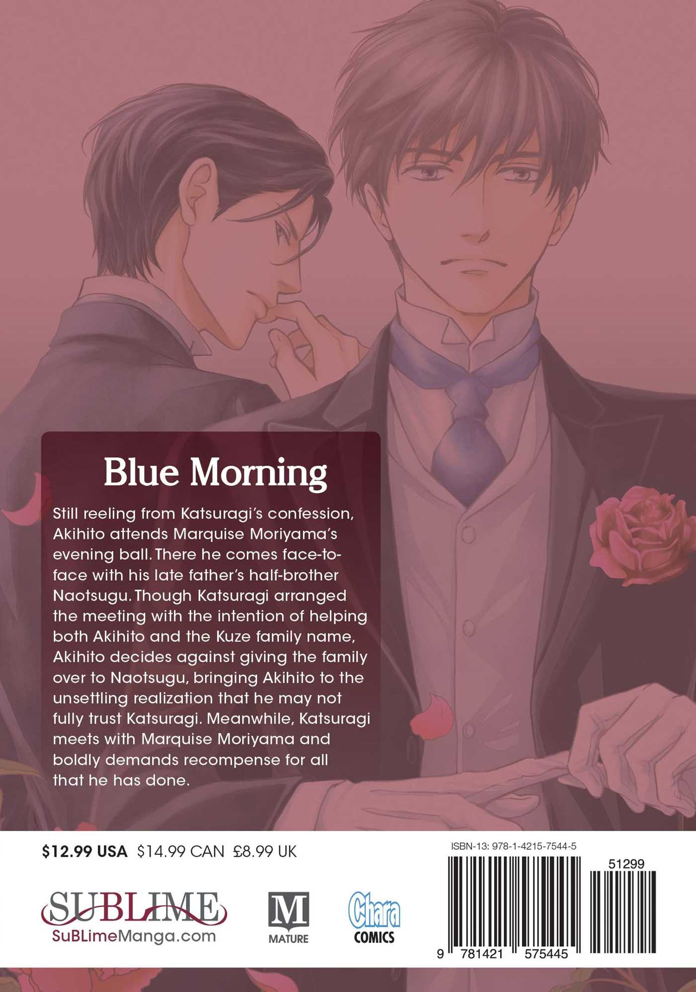 Blue morning vol 5 9781421575445 hr back