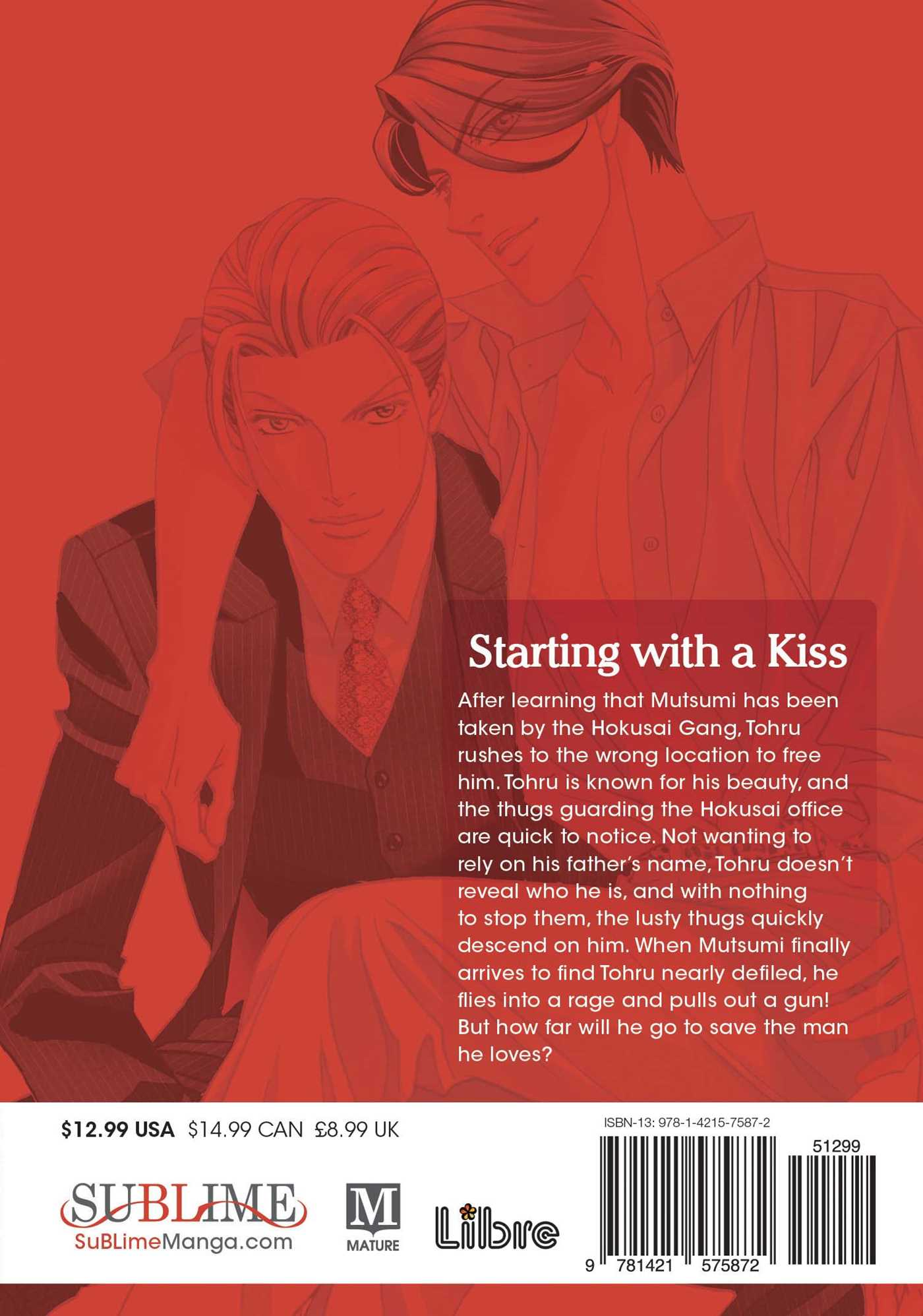 Starting with a kiss vol 3 9781421575872 hr back