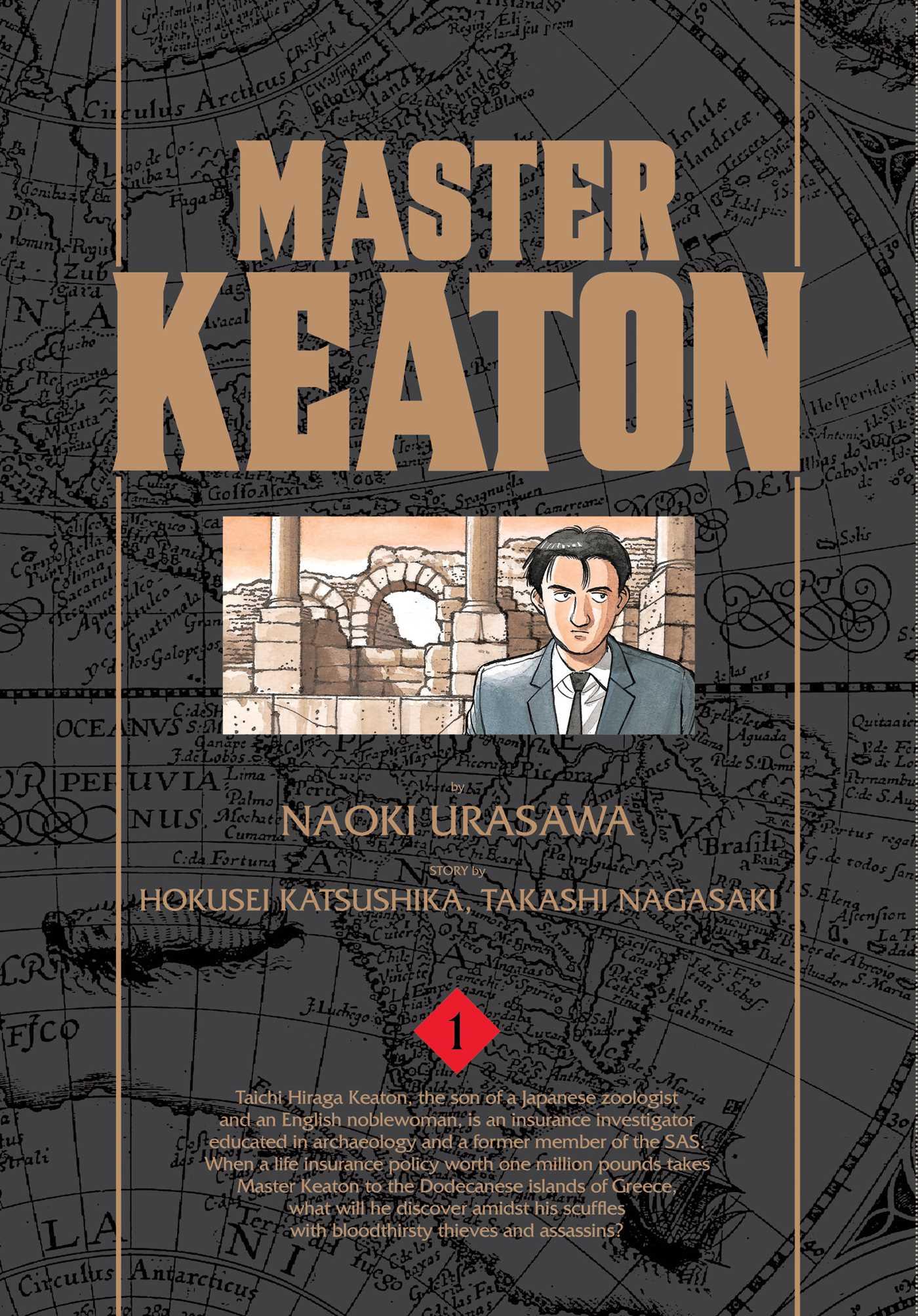 Master keaton vol 1 9781421575896 hr