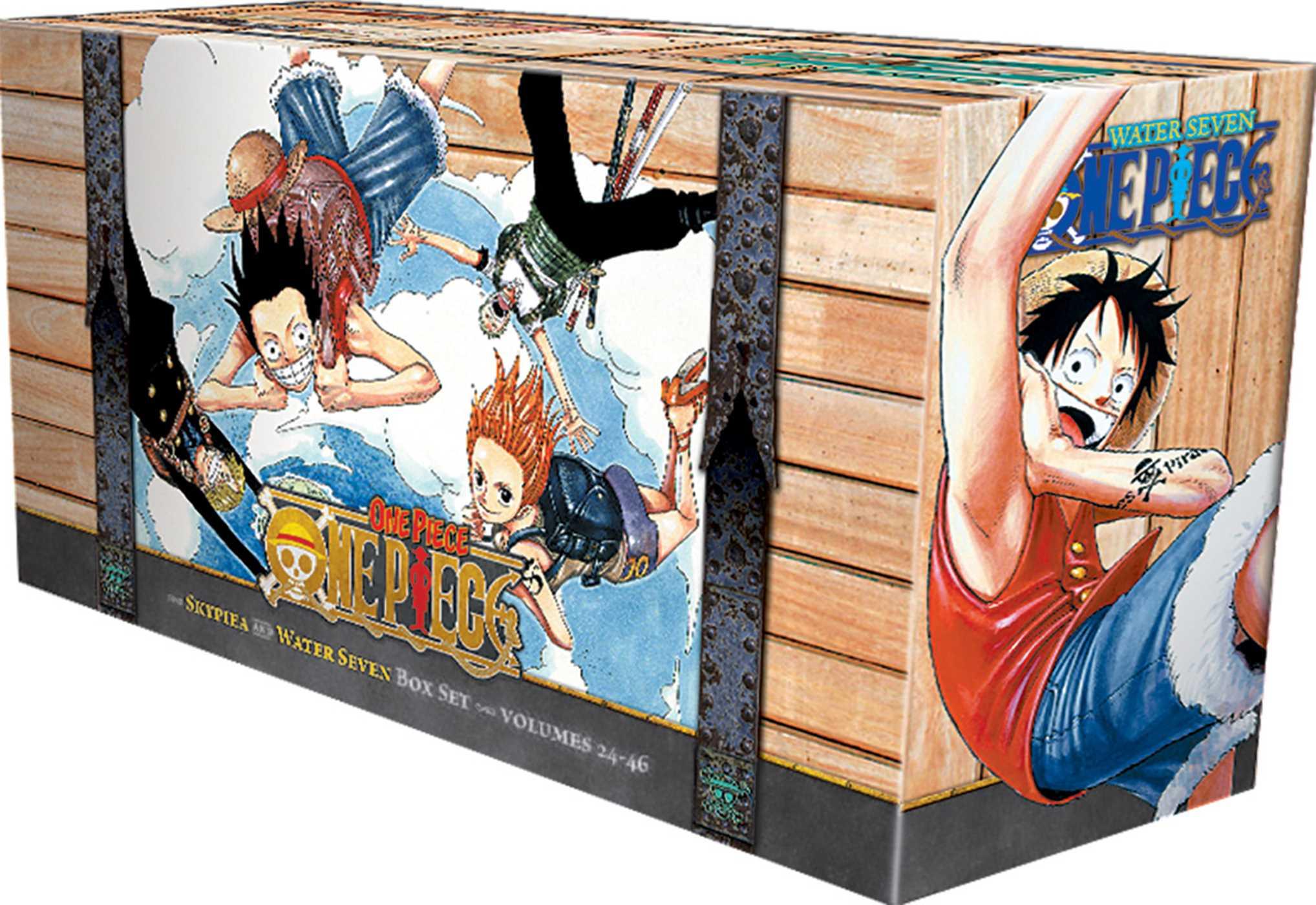 One Piece Box Set 2   Book by Eiichiro Oda   Official ...