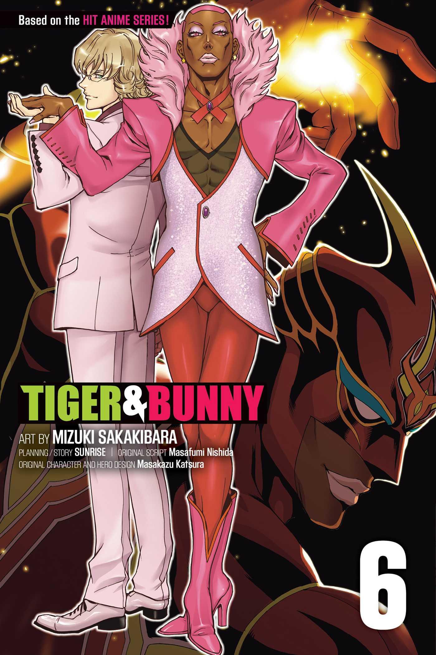 Tiger bunny vol 6 9781421576800 hr