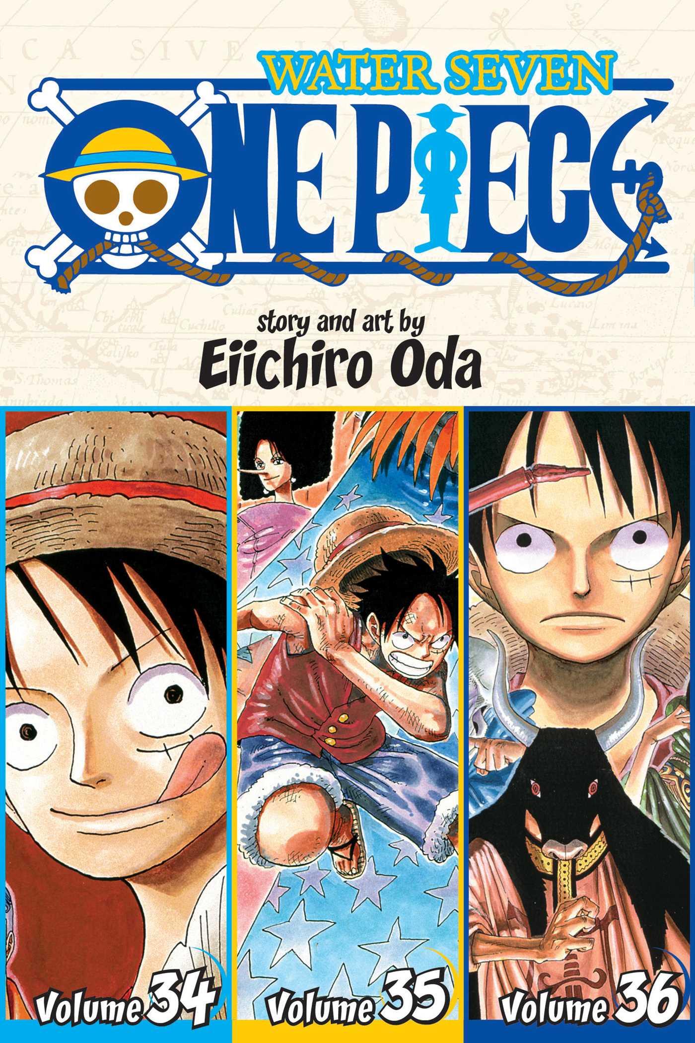 One Piece Water Seven 34 35 36 Vol 12 Omnibus Edition