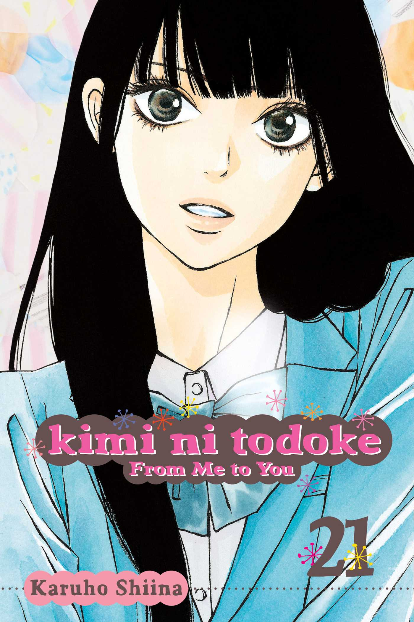 Book Cover Image Jpg Kimi Ni Todoke From Me To You Vol 21