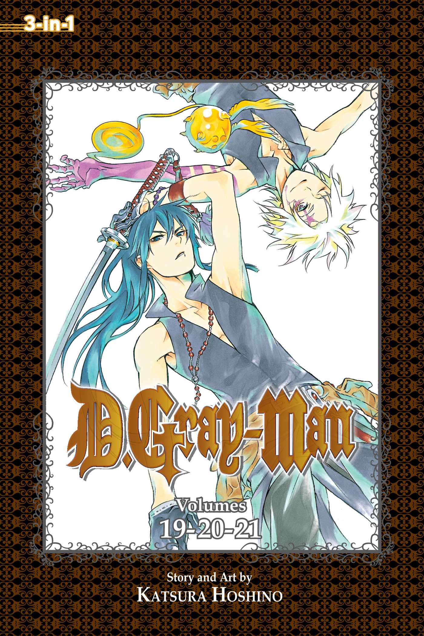 D gray man 3 in 1 edition vol 7 9781421578736 hr