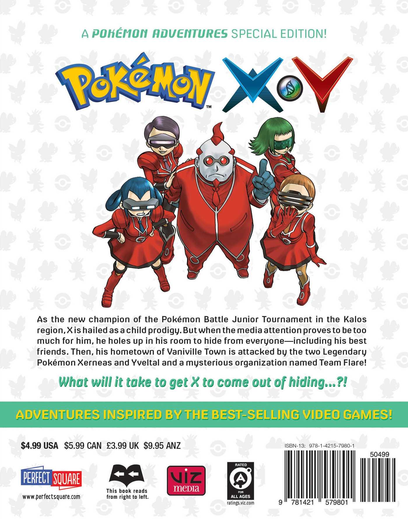 all pokemon in x