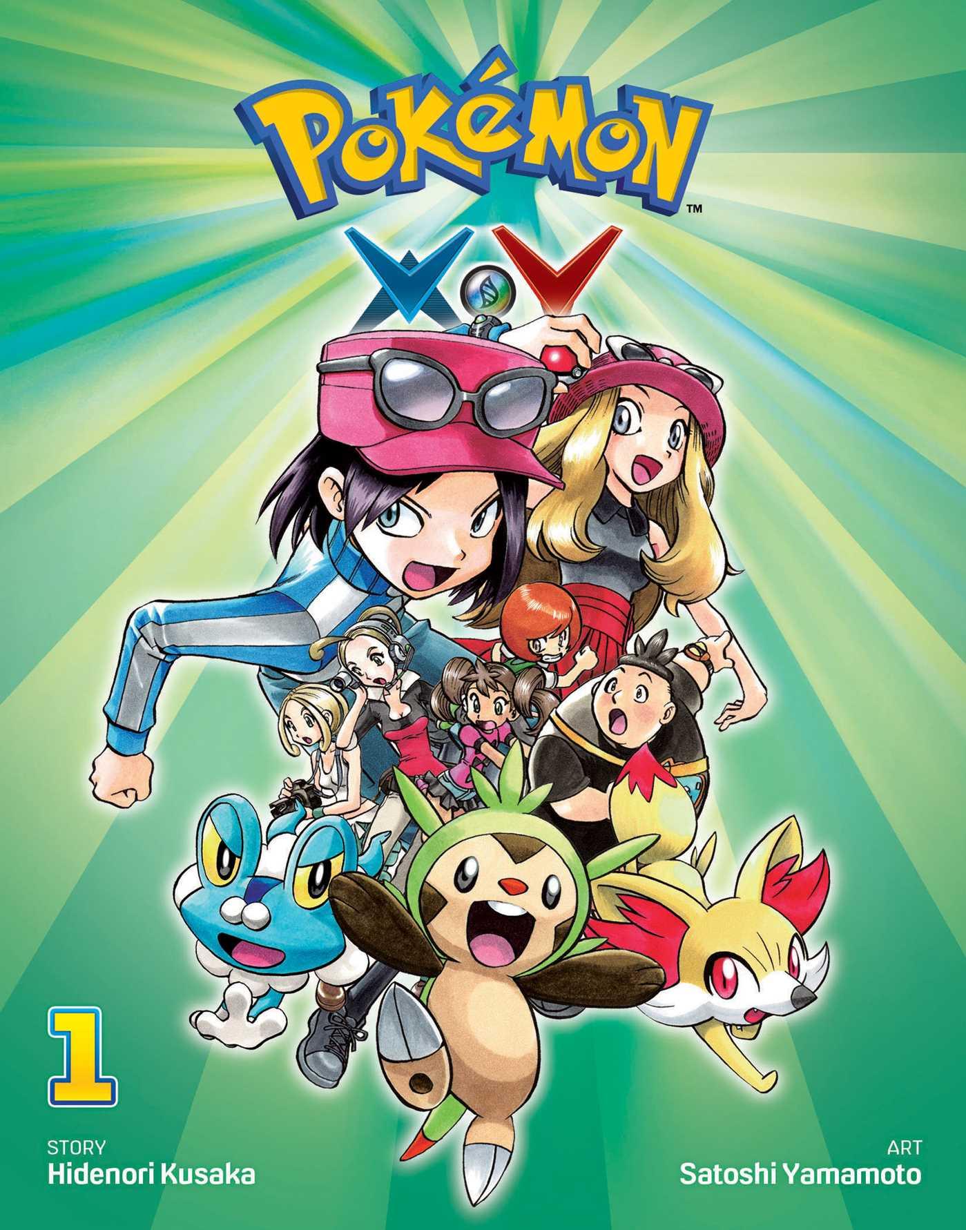 Pokemon X Y Vol 1 Book By Hidenori Kusaka Satoshi Yamamoto