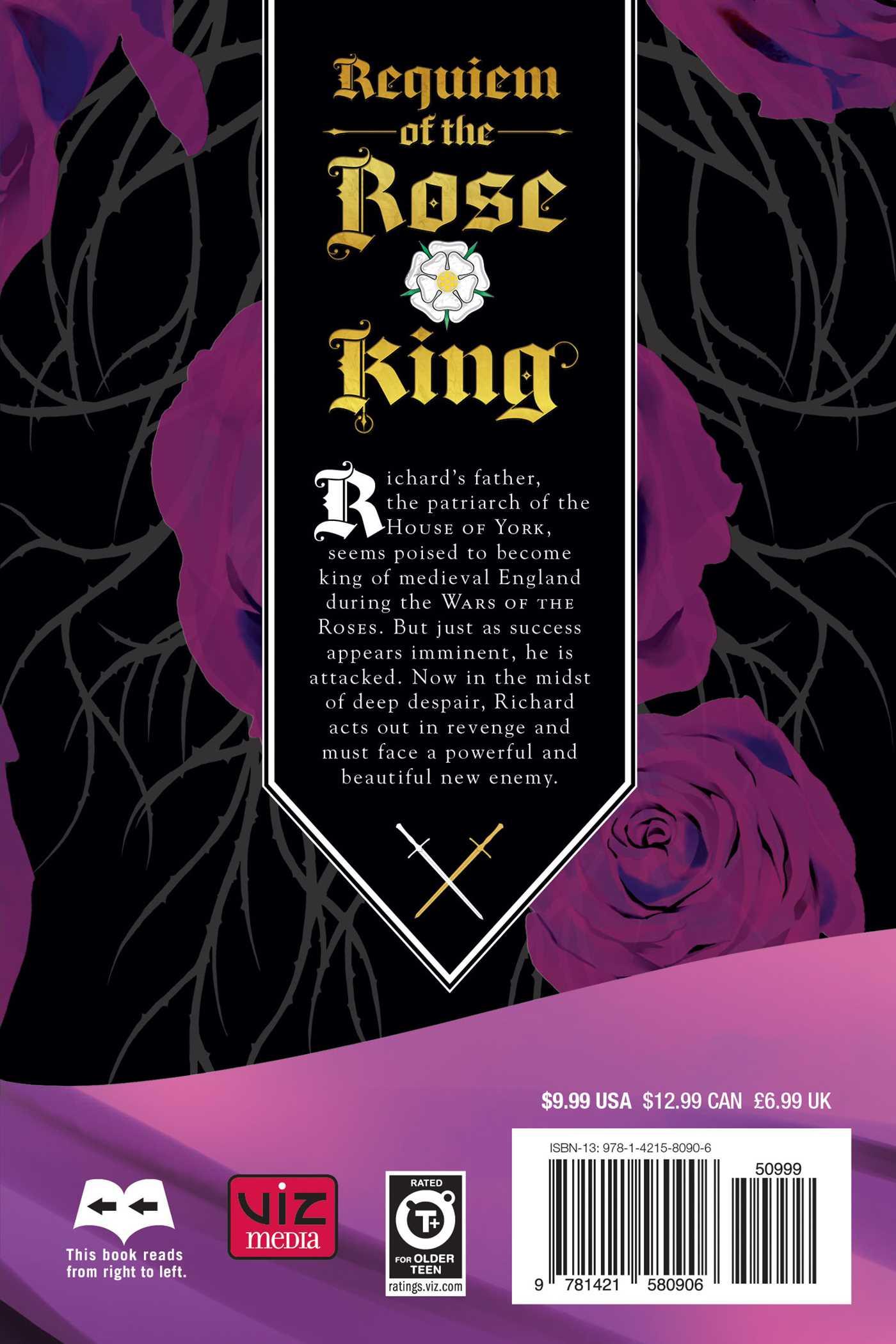 Requiem of the rose king vol 2 9781421580906 hr back