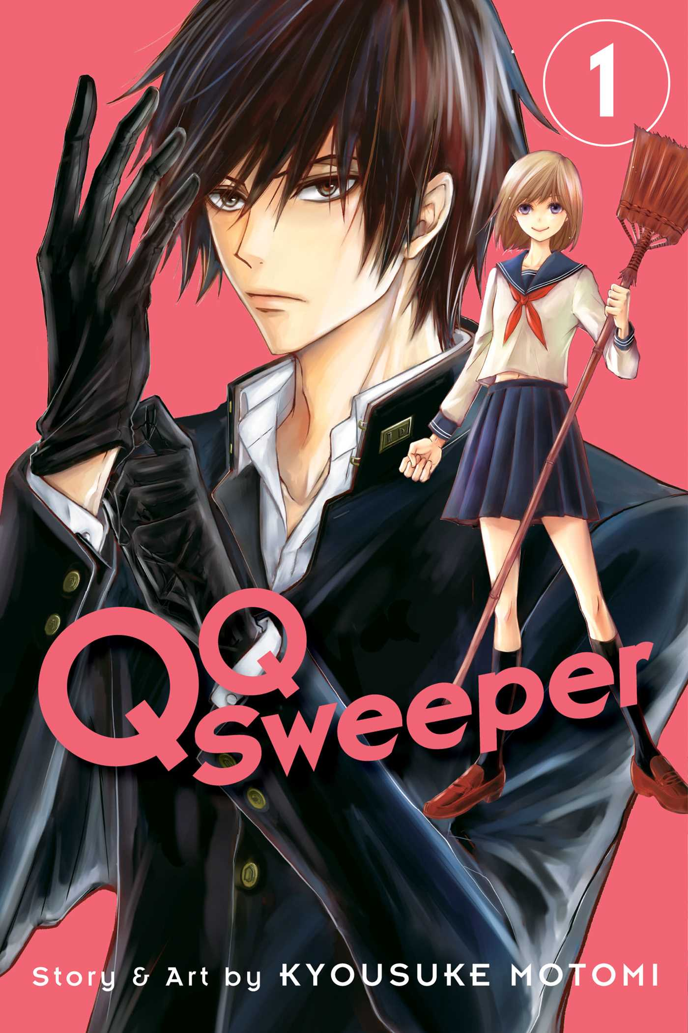 QQ Sweeper, Vol  1 | Book by Kyousuke Motomi | Official