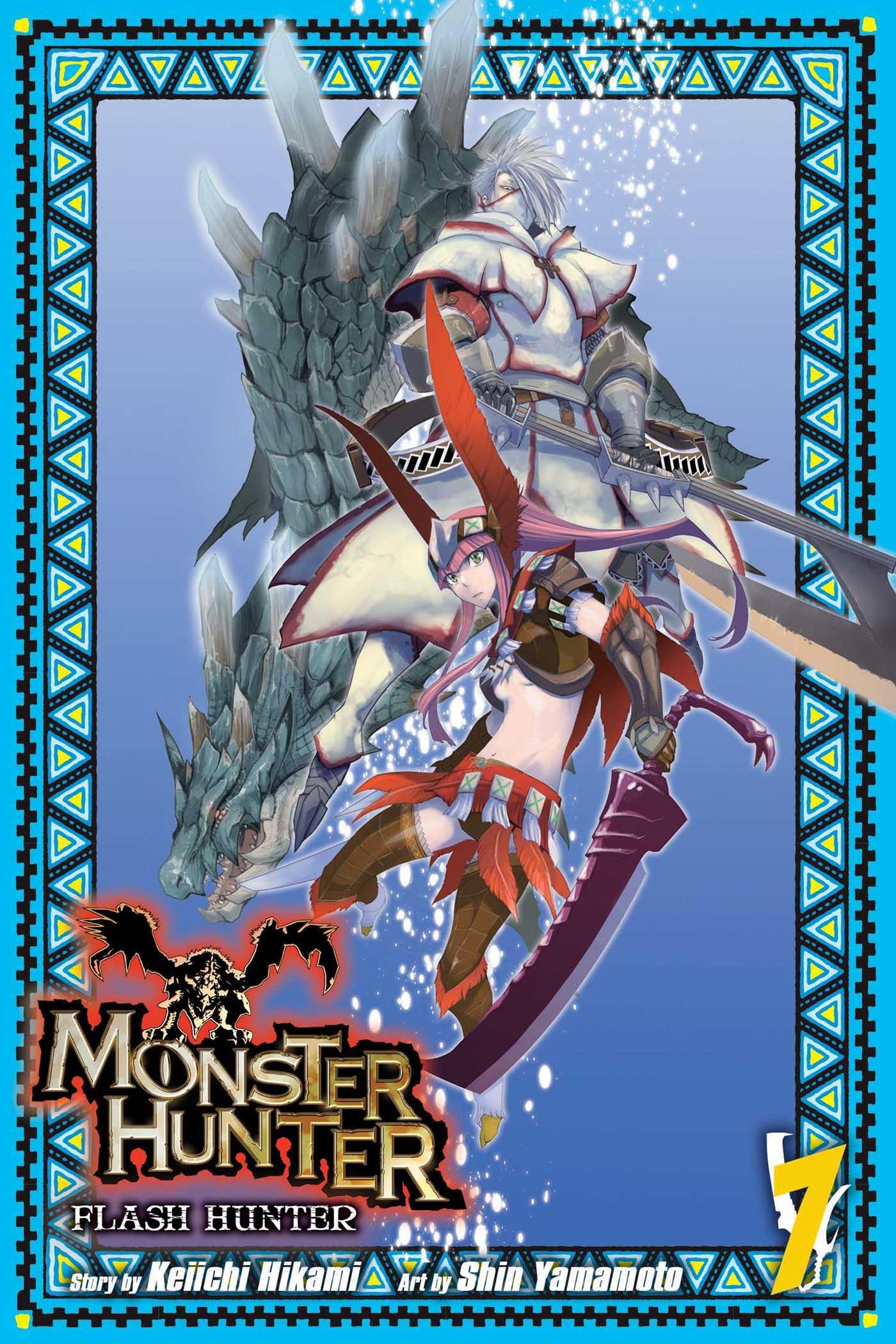 Monster hunter flash hunter vol 7 9781421584324 hr