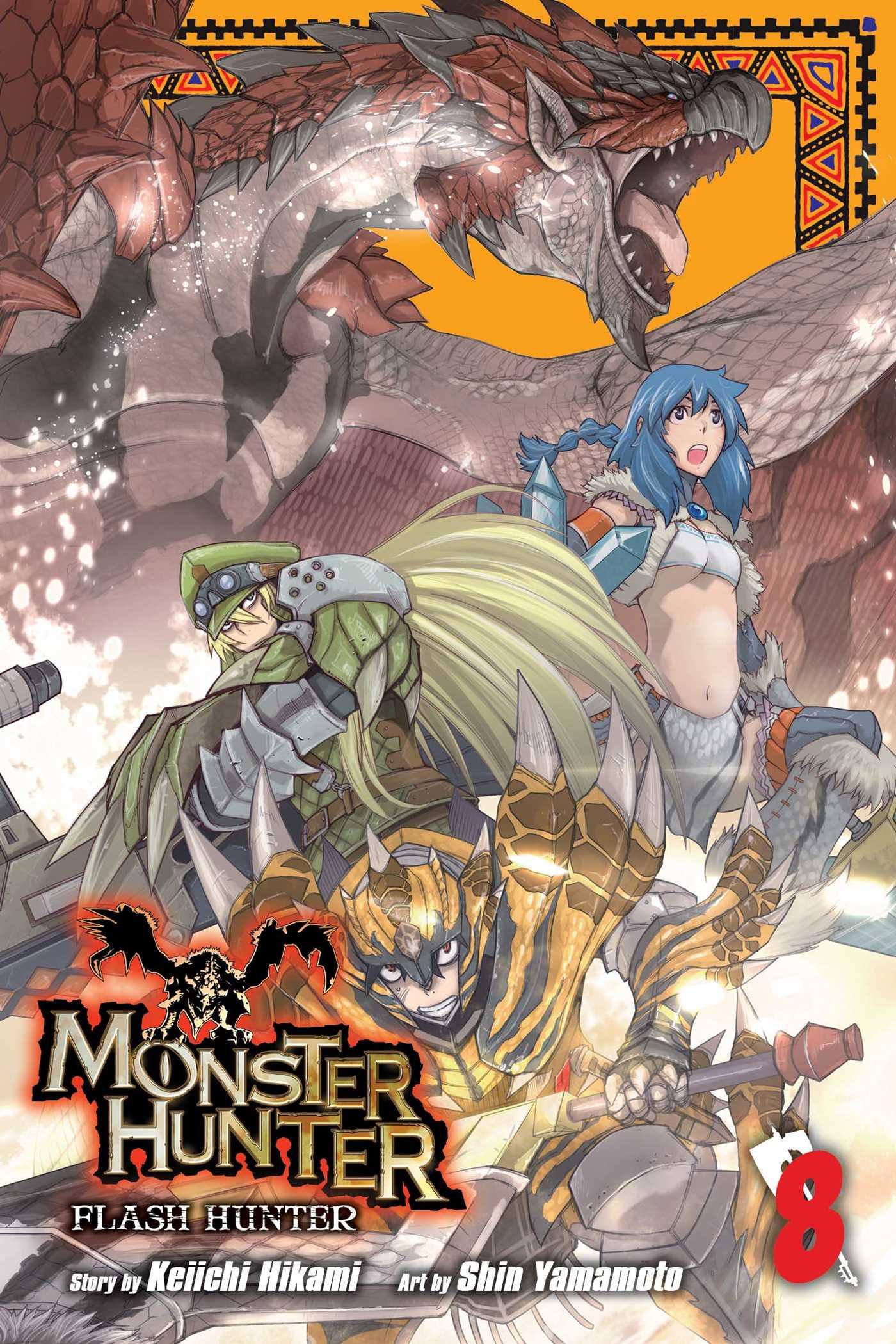 Monster hunter flash hunter vol 8 9781421584331 hr