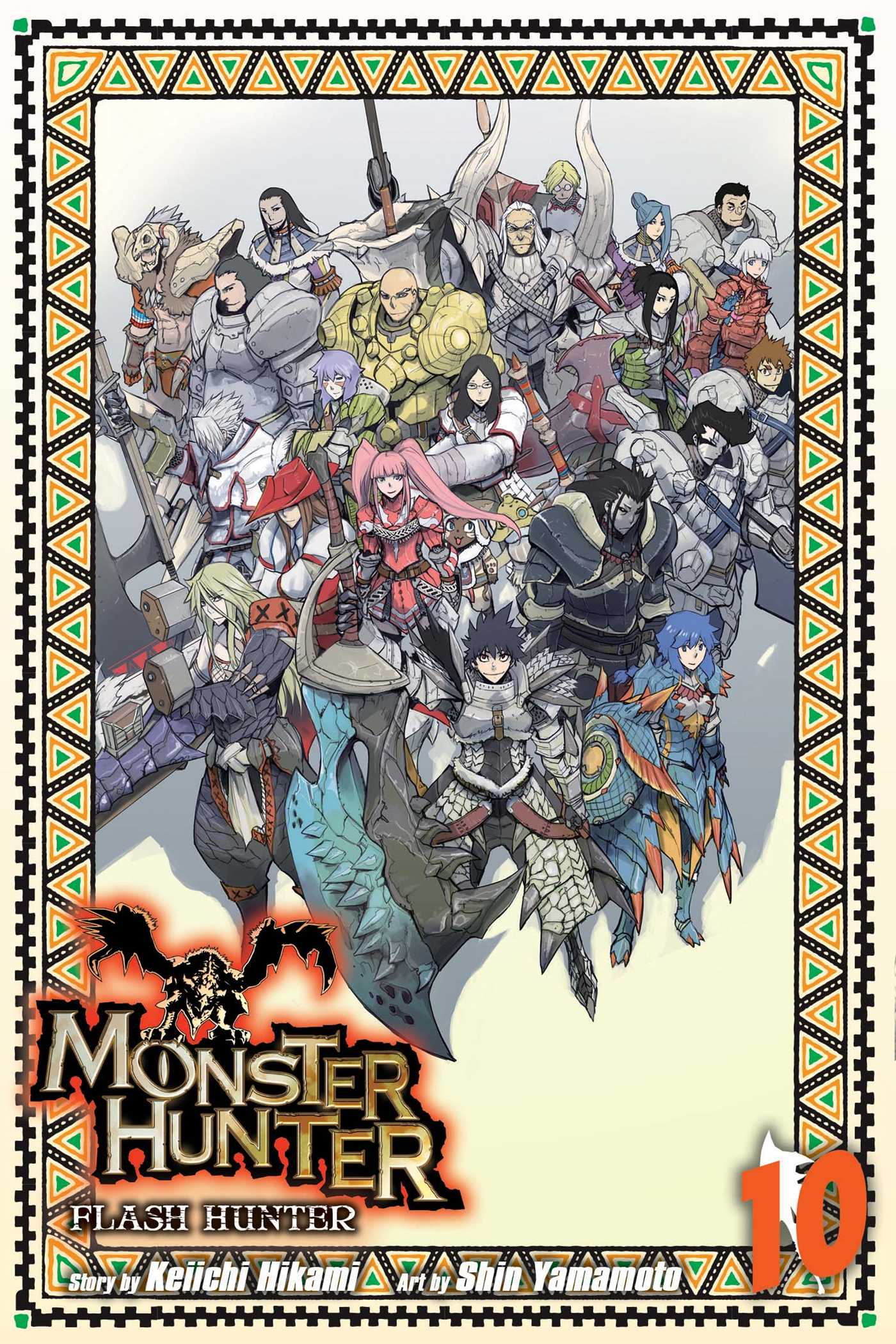 Monster hunter flash hunter vol 10 9781421584355 hr