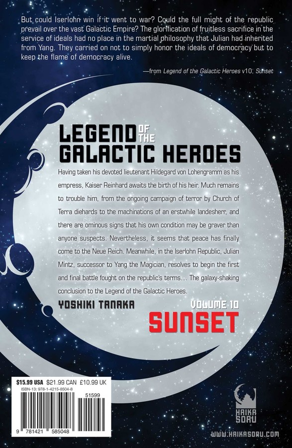 Legend of the Galactic Heroes, Vol  10 | Book by Yoshiki