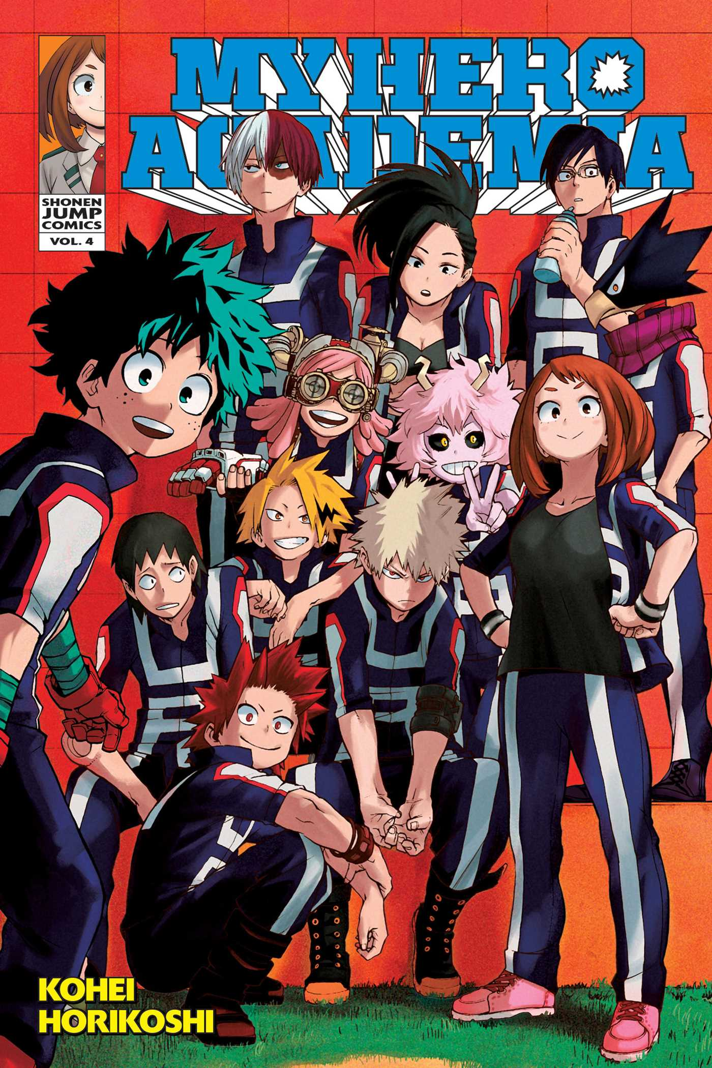 My Hero Academia, Vol. 4 | Book by Kohei Horikoshi | Official Publisher Page | Simon & Schuster