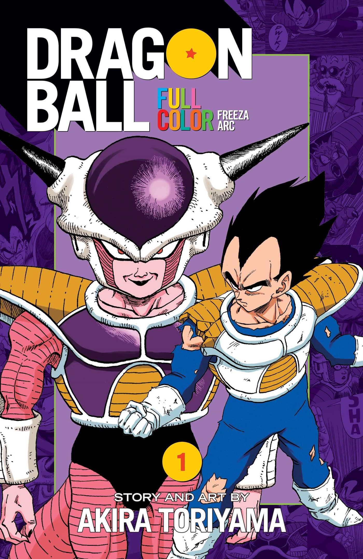 Dragon Ball Full Color Freeza Arc Vol 1 Book By Akira