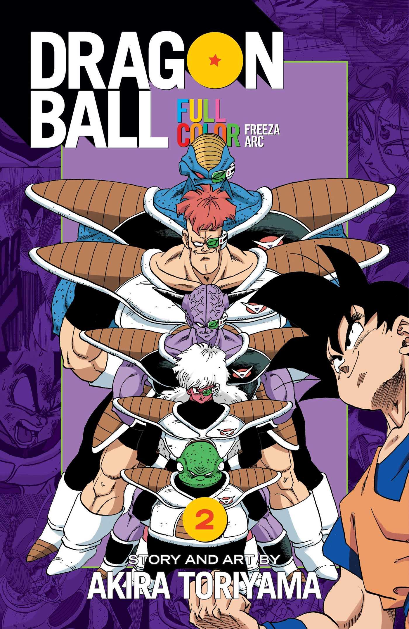 Dragon Ball Full Color Freeza Arc, Vol. 2   Book by Akira Toriyama ...