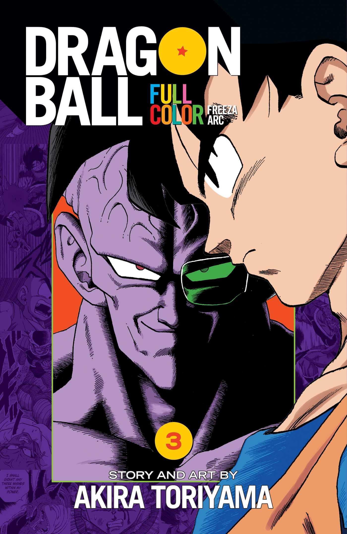 Dragon Ball Full Color Freeza Arc, Vol. 3   Book by Akira Toriyama ...
