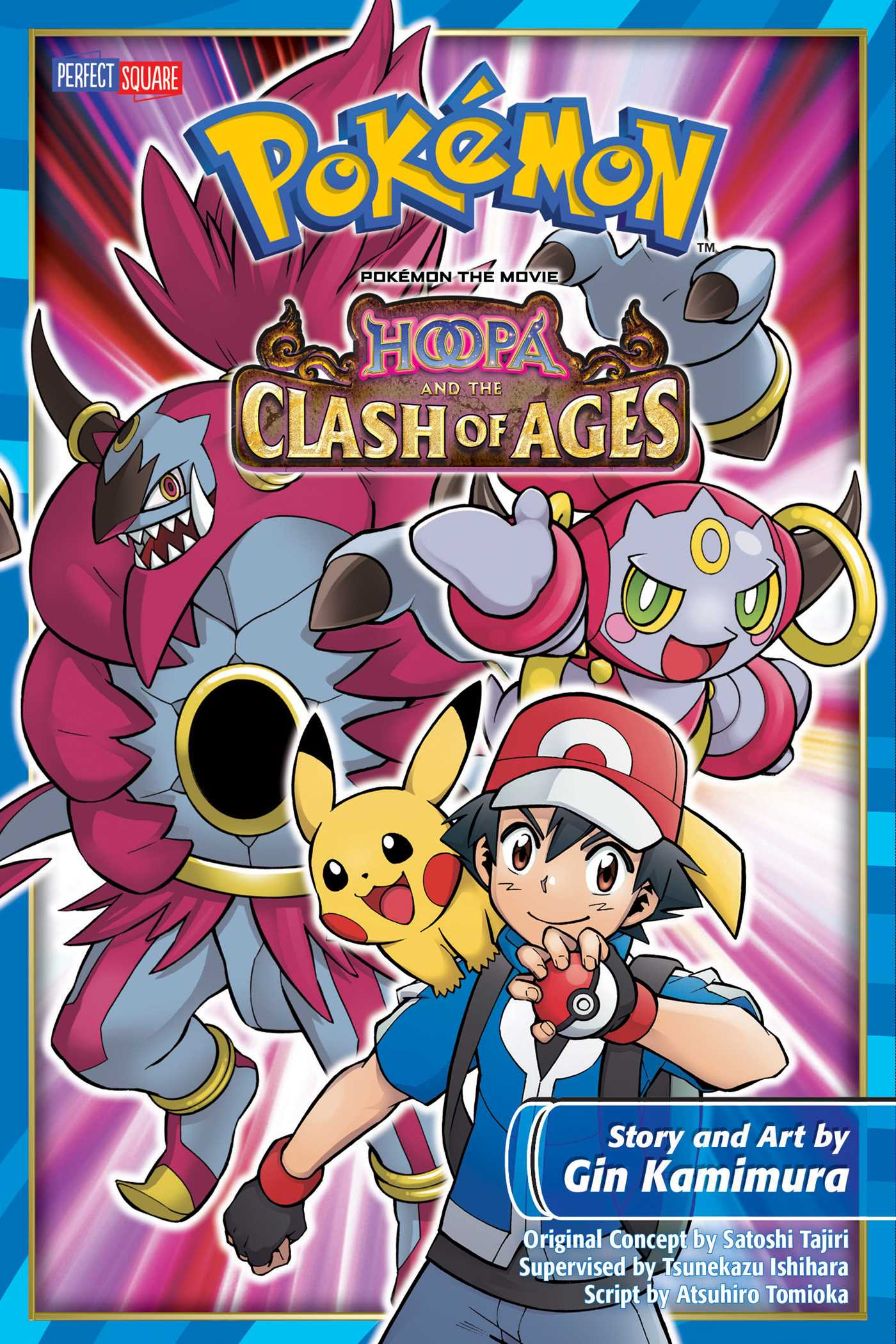 Pokemon The Movie Hoopa And The Clash Of Ages Book By Gin