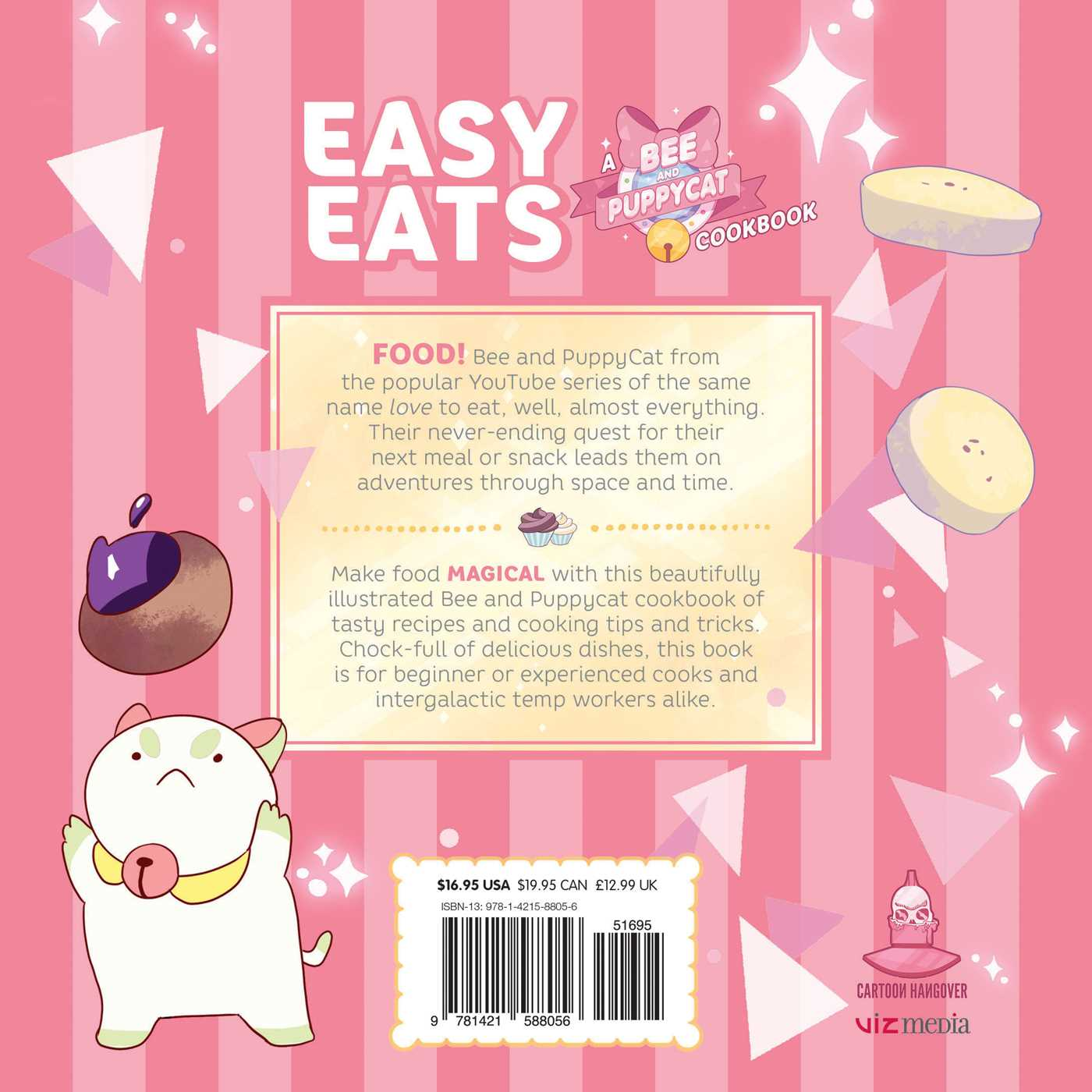 Easy eats a bee and puppycat cookbook book by natasha allegri easy eats a bee and puppycat cookbook 9781421588056 hr back forumfinder Choice Image