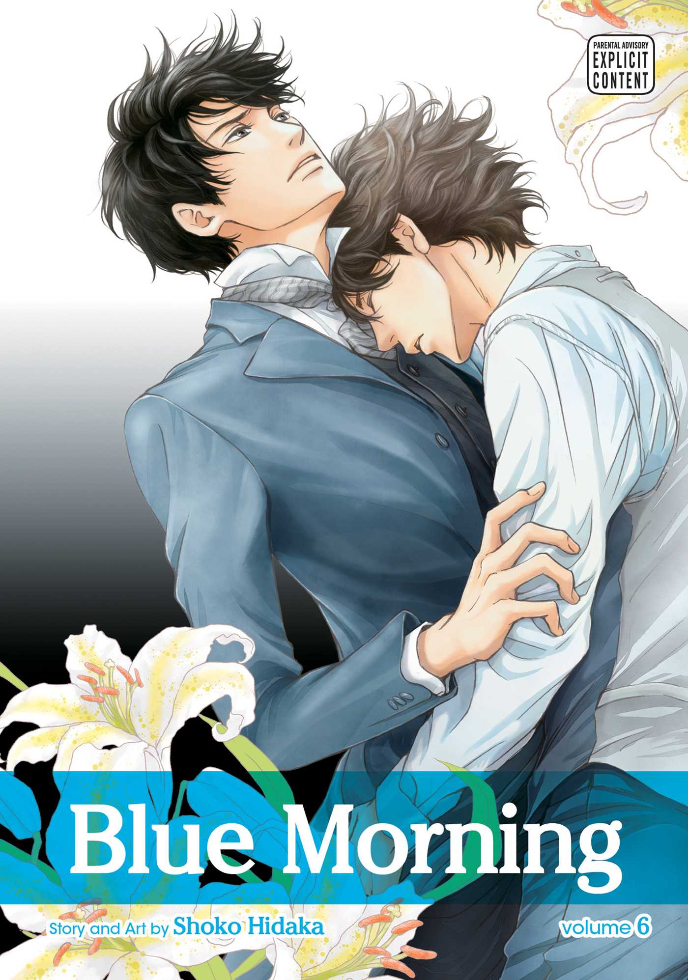 Blue morning vol 6 9781421588063 hr