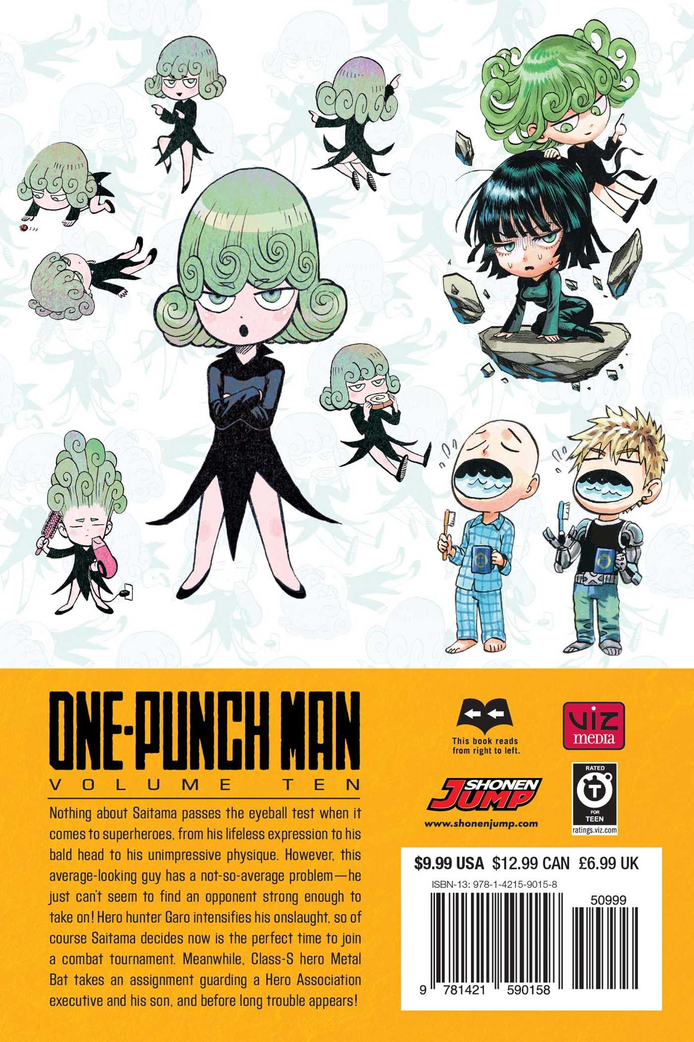 One-Punch Man, Vol  10 | Book by ONE, Yusuke Murata | Official