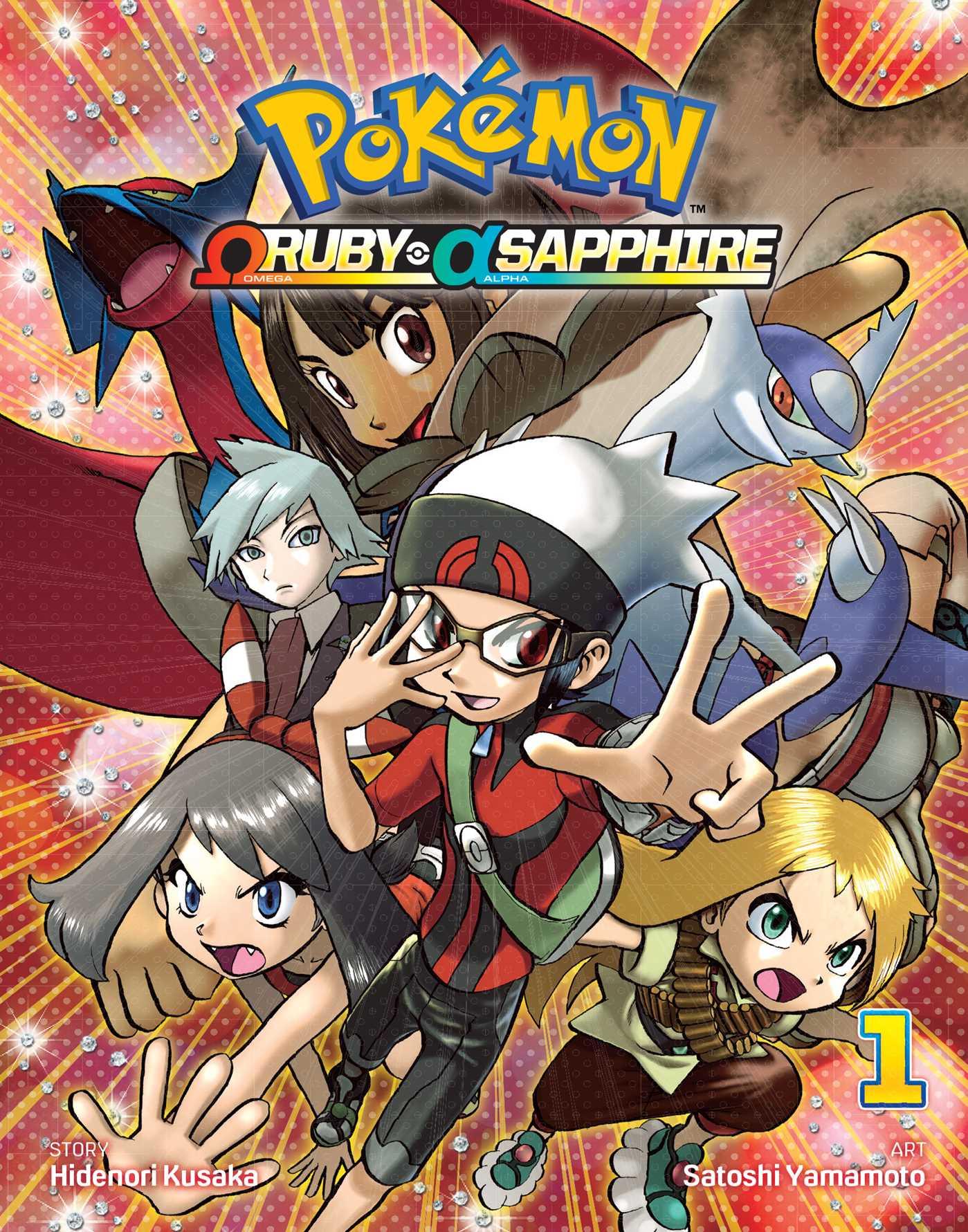 Pok mon omega ruby alpha sapphire vol 1 book by satoshi yamamoto hidenori kusaka official - Pokemon saphir pokemon legendaire ...