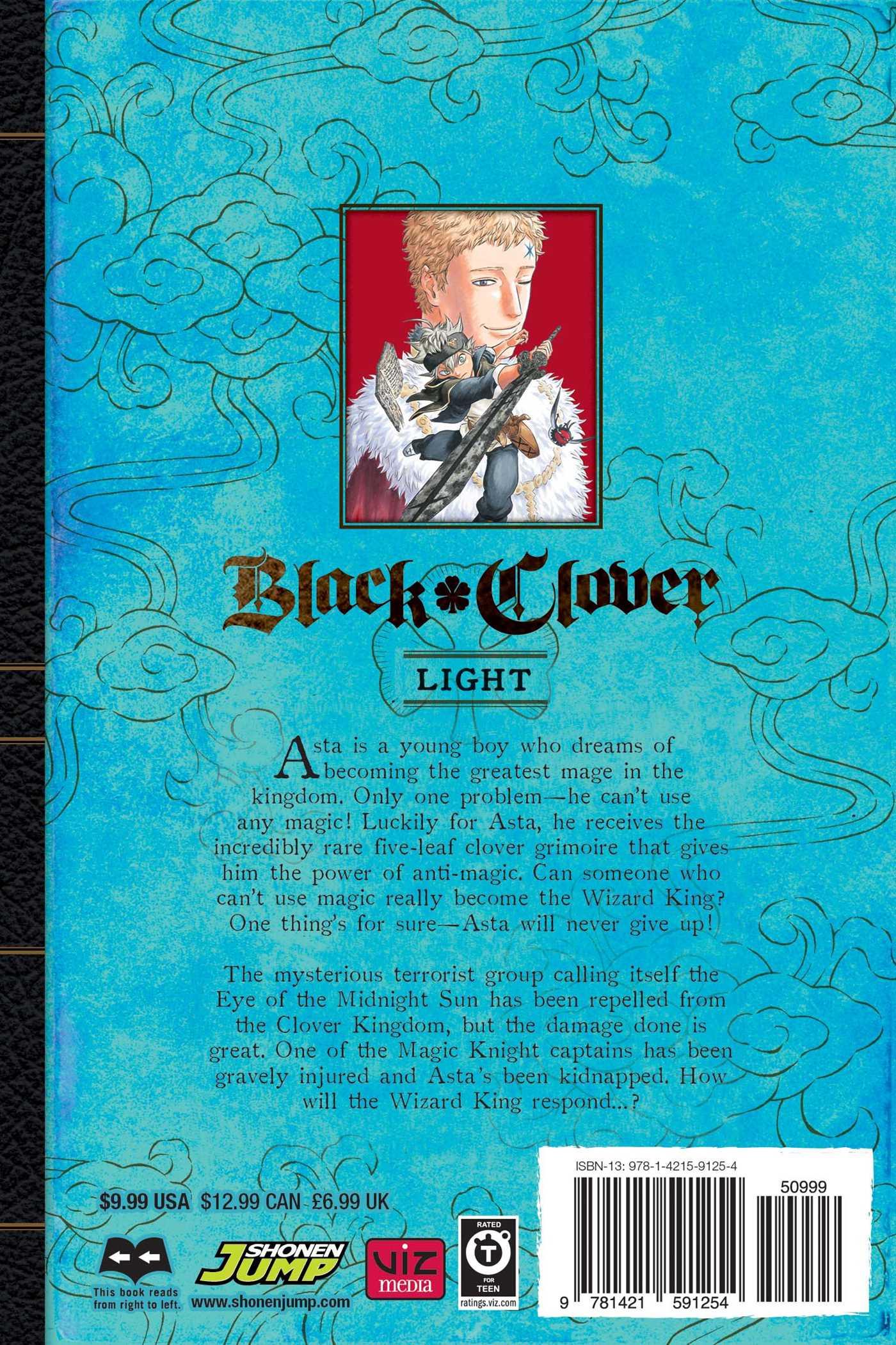 Black Clover, Vol. 5 | Book by Yuki Tabata | Official ...
