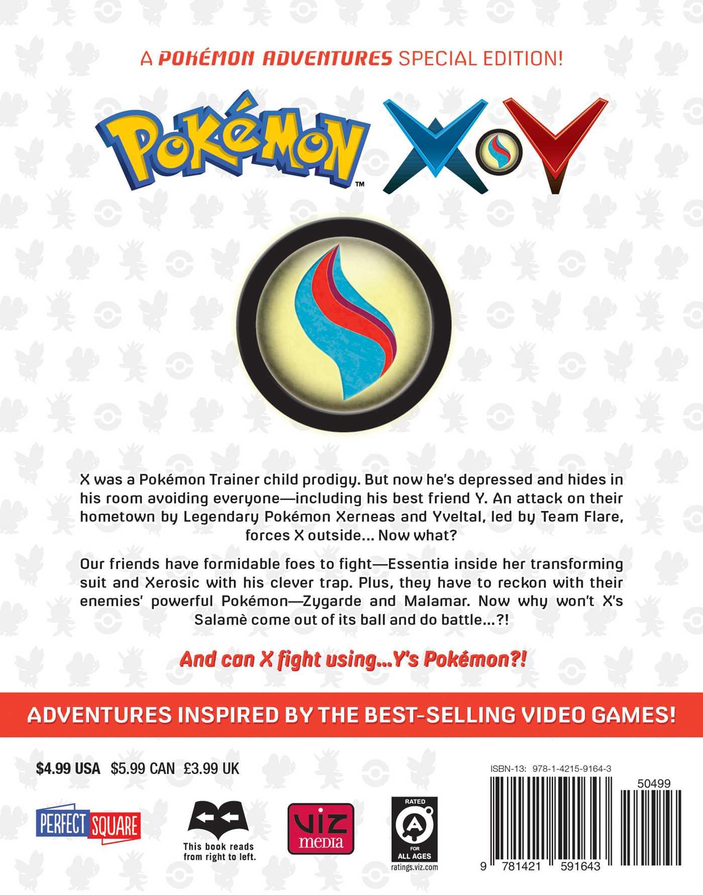 Pokemon x y vol 10 9781421591643 hr back