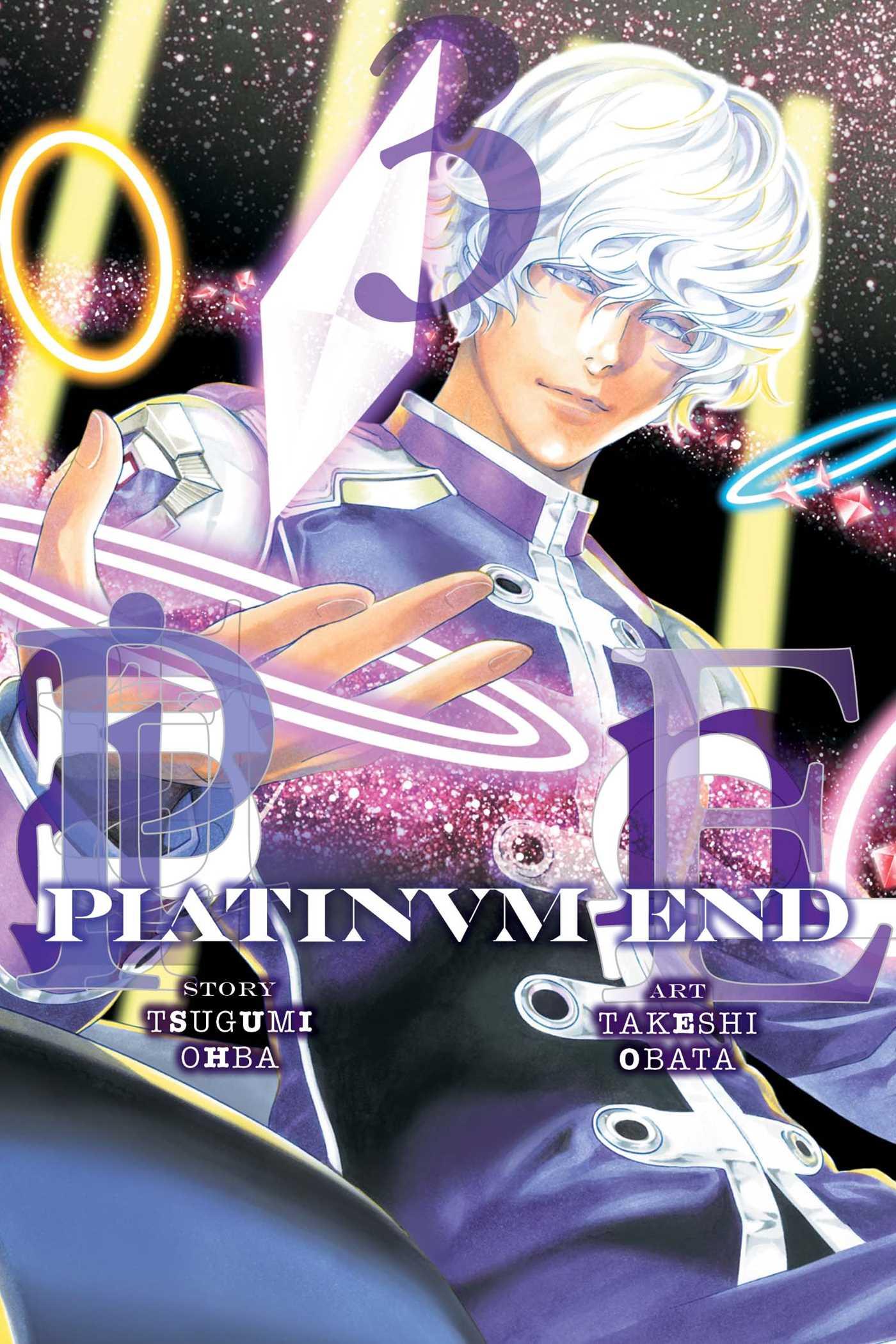 Platinum end vol 3 9781421592084 hr