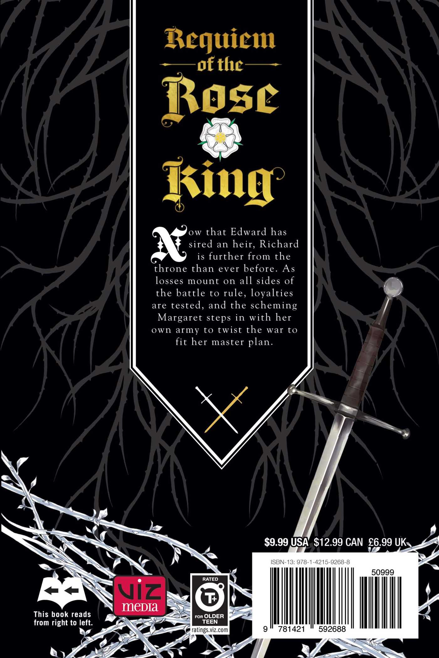 Requiem of the rose king vol 6 9781421592688 hr back