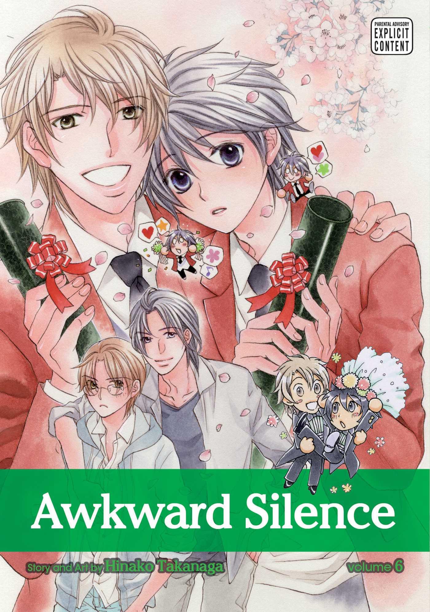 Awkward silence vol 6 9781421593692 hr