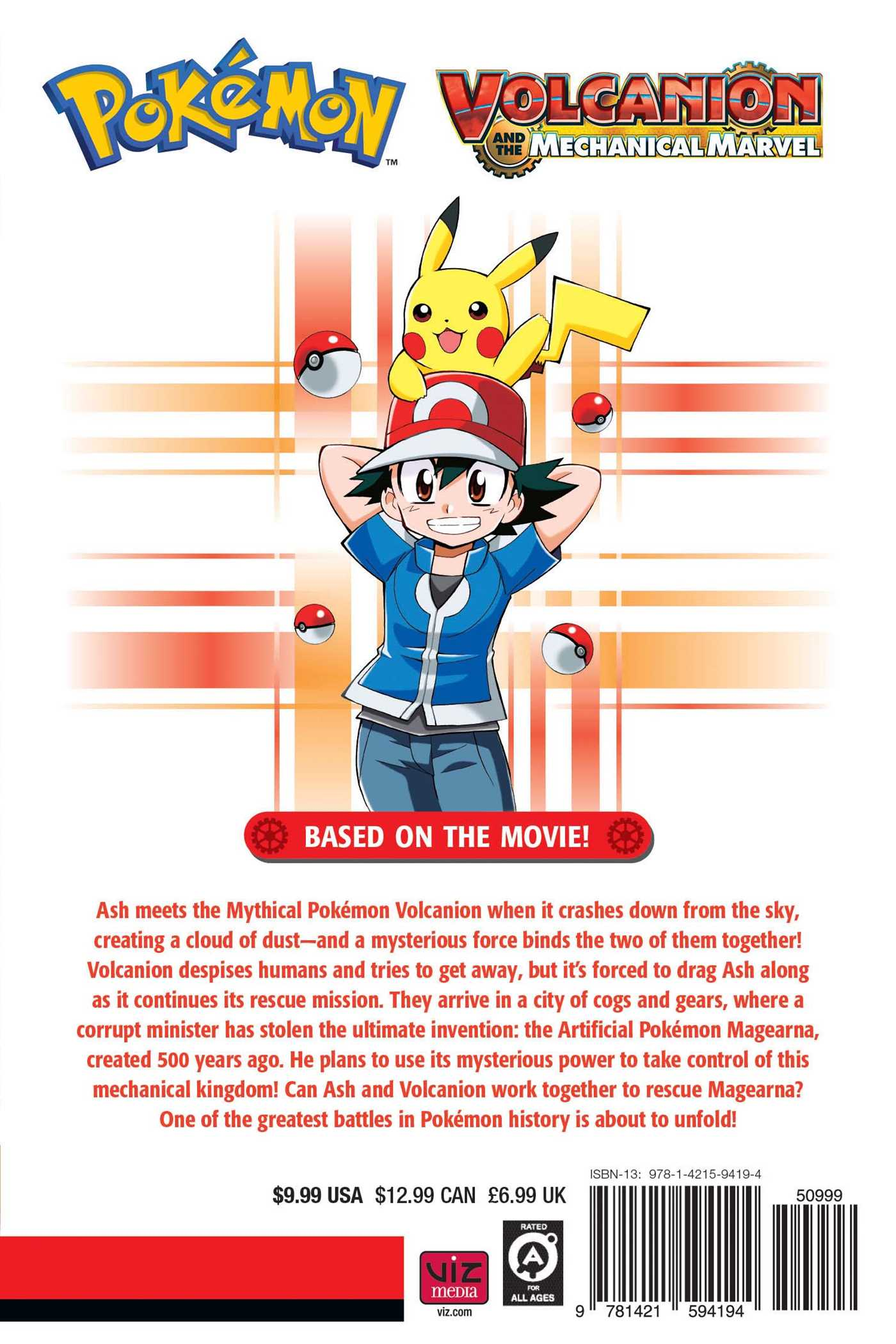 Pokemon The Movie Volcanion And The Mechanical Marvel Book By