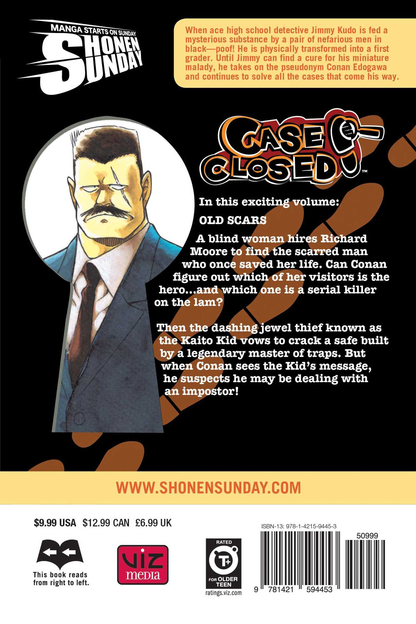 Case closed vol 64 9781421594453 hr back