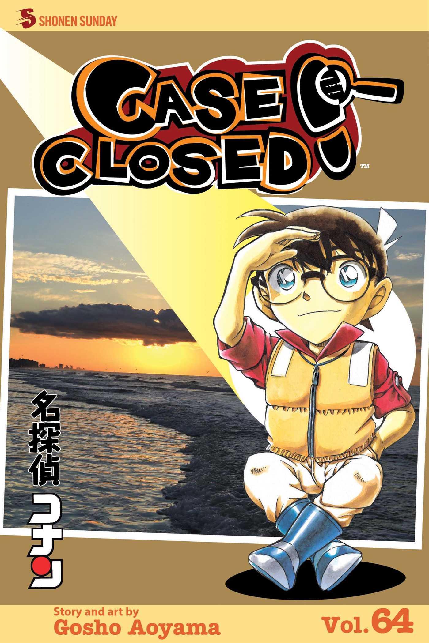 Case closed vol 64 9781421594453 hr