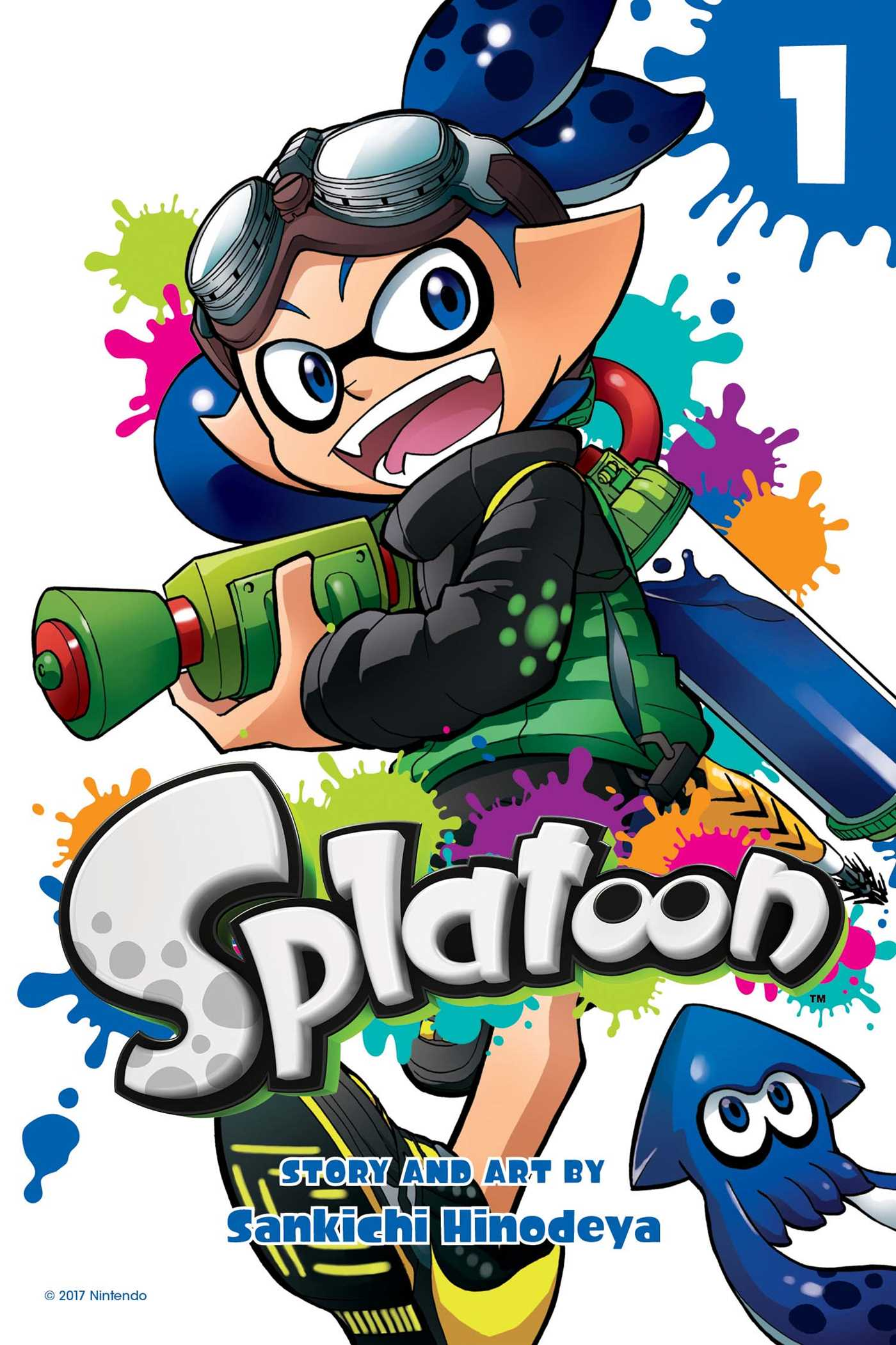 Splatoon vol 1 9781421595481 hr