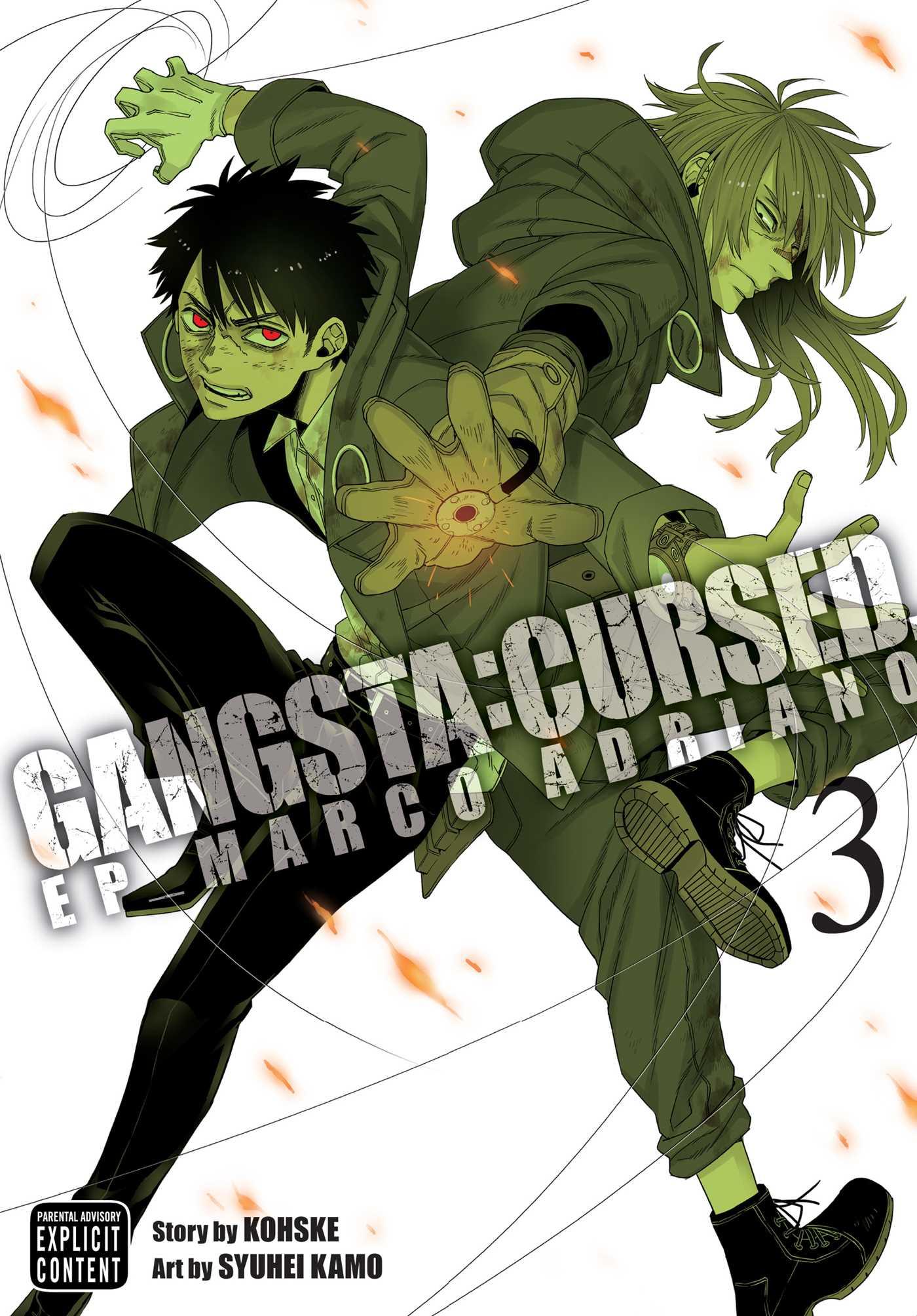 Gangsta cursed vol 3 9781421595818 hr