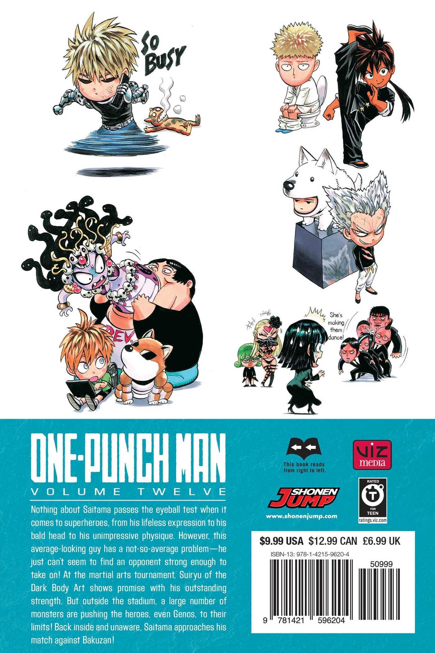 One-Punch Man, Vol  12 | Book by ONE, Yusuke Murata