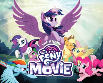 The Art Of My Little Pony The Movie Book By Hasbro Rebecca Dart