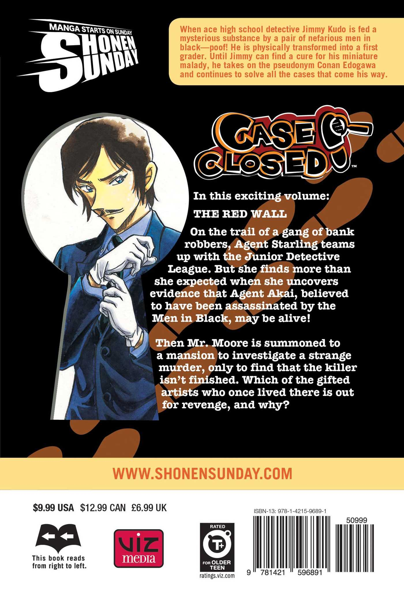 Case closed vol 65 9781421596891 hr back