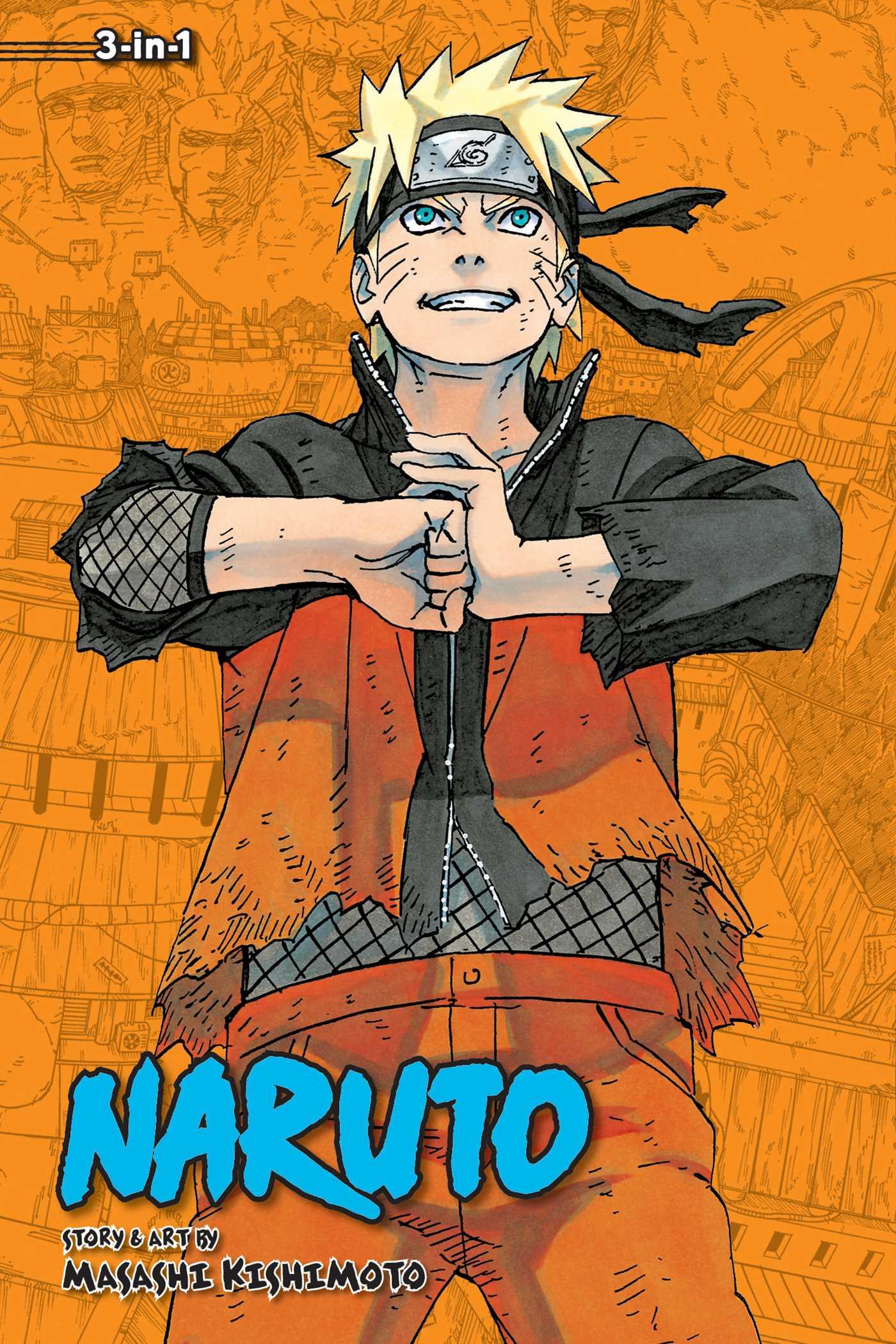Naruto (3-in-1 Edition), Vol. 22 | Book by Masashi