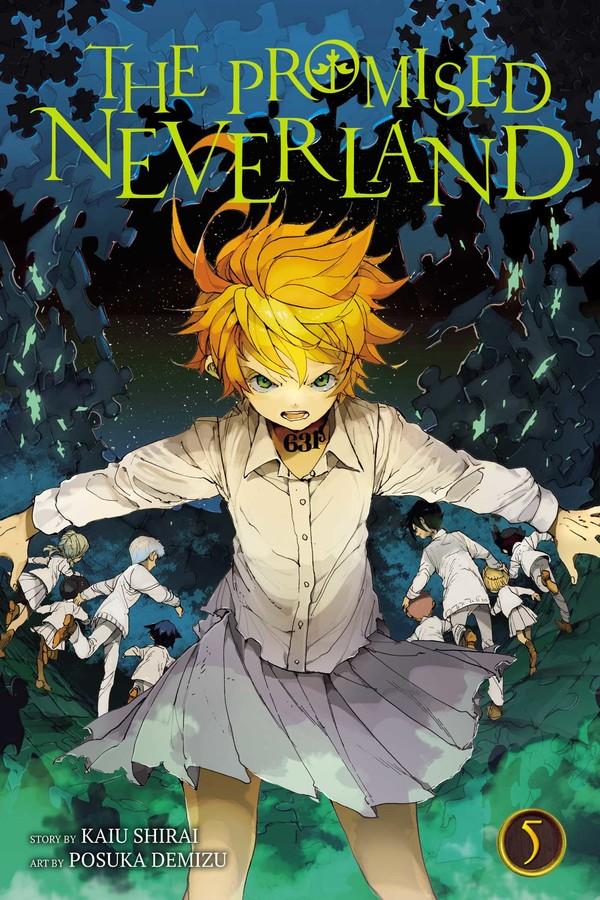 The Promised Neverland, Vol  5   Book by Kaiu Shirai, Posuka Demizu